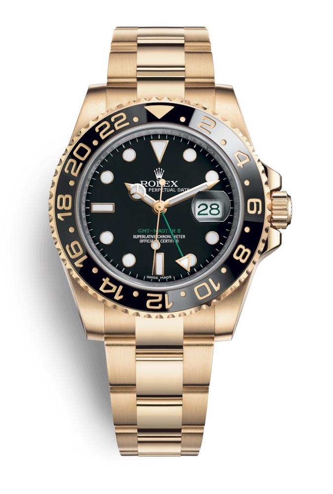 Rolex GMT Master II Black 116718LN