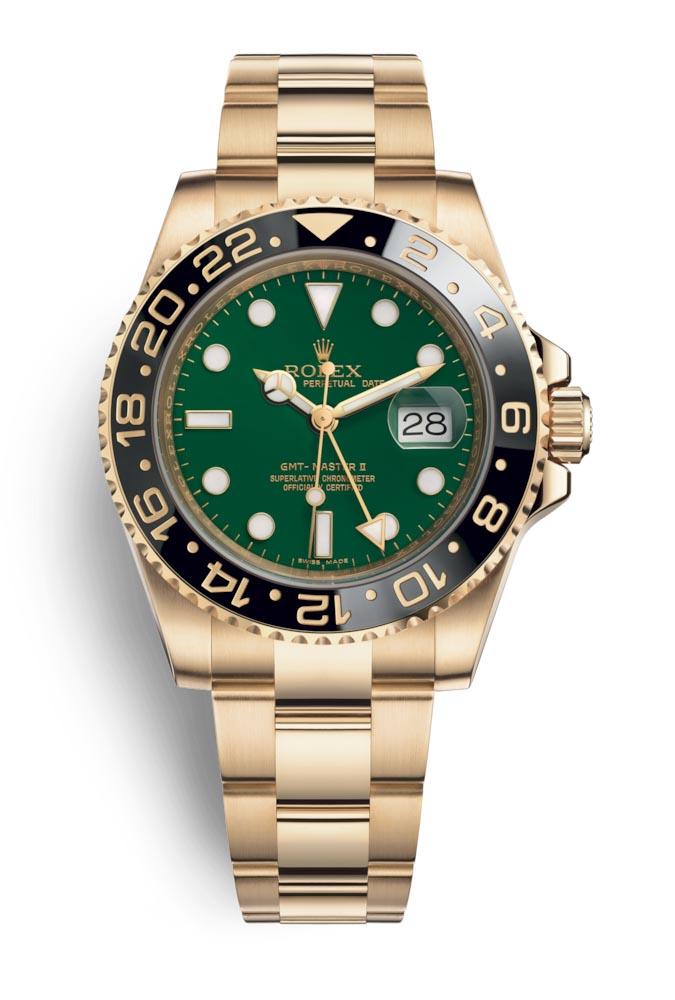 Rolex GMT Master II Green 116718LN