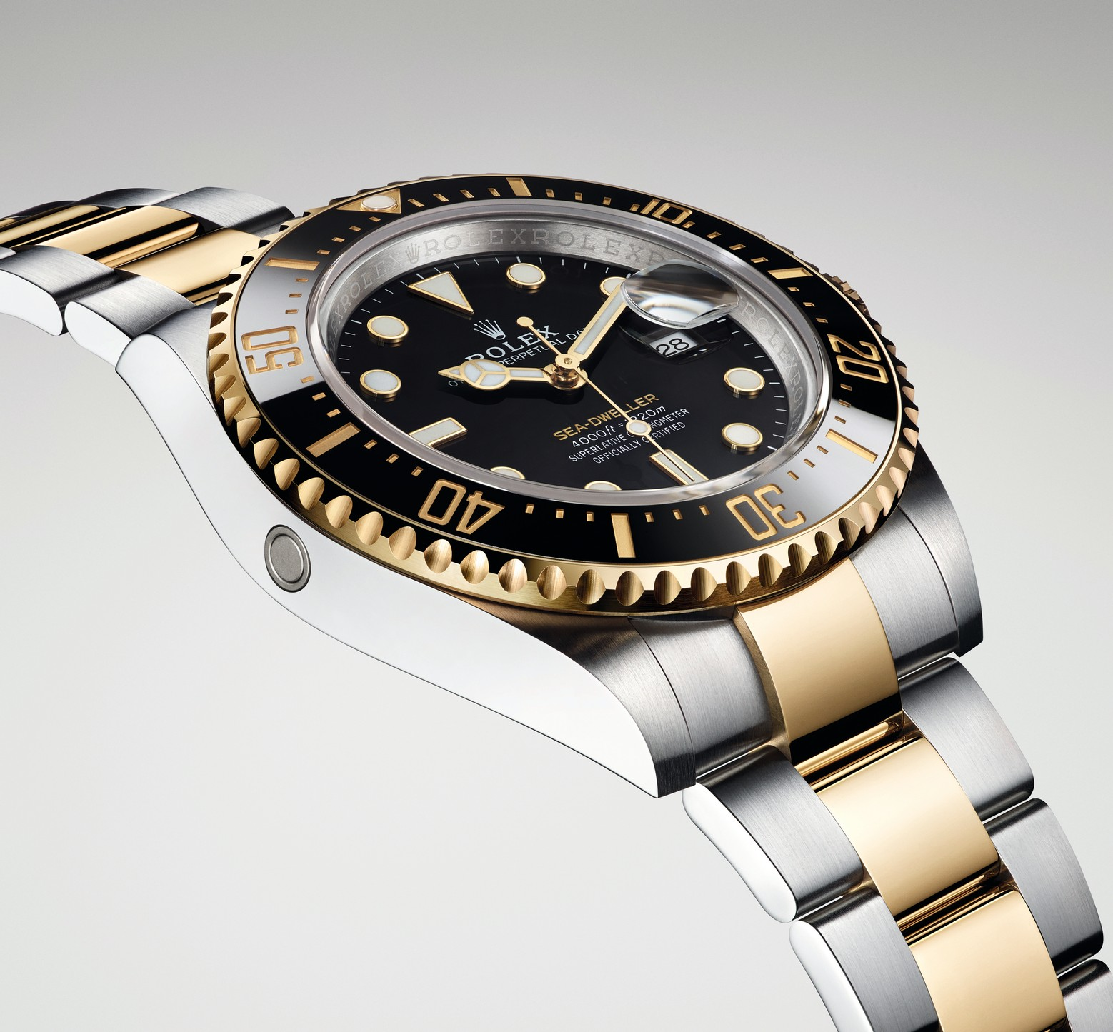 542048430f5d7 Price for the Rolex Sea-Dweller 43mm Yellow Rolesor 126603 will be CHF  15,300. For more information, please visit www.rolex.com.