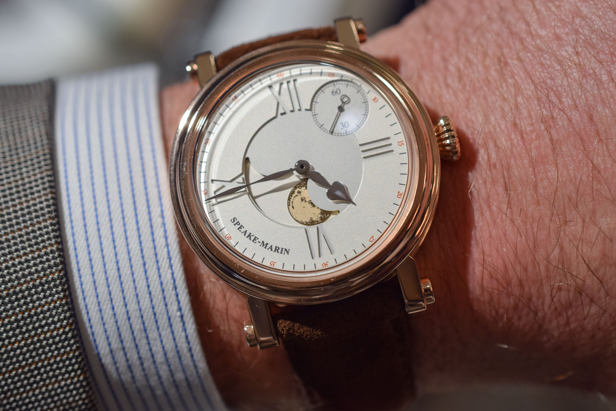 Speake-Marin One-Two Academic Full Moon - 3