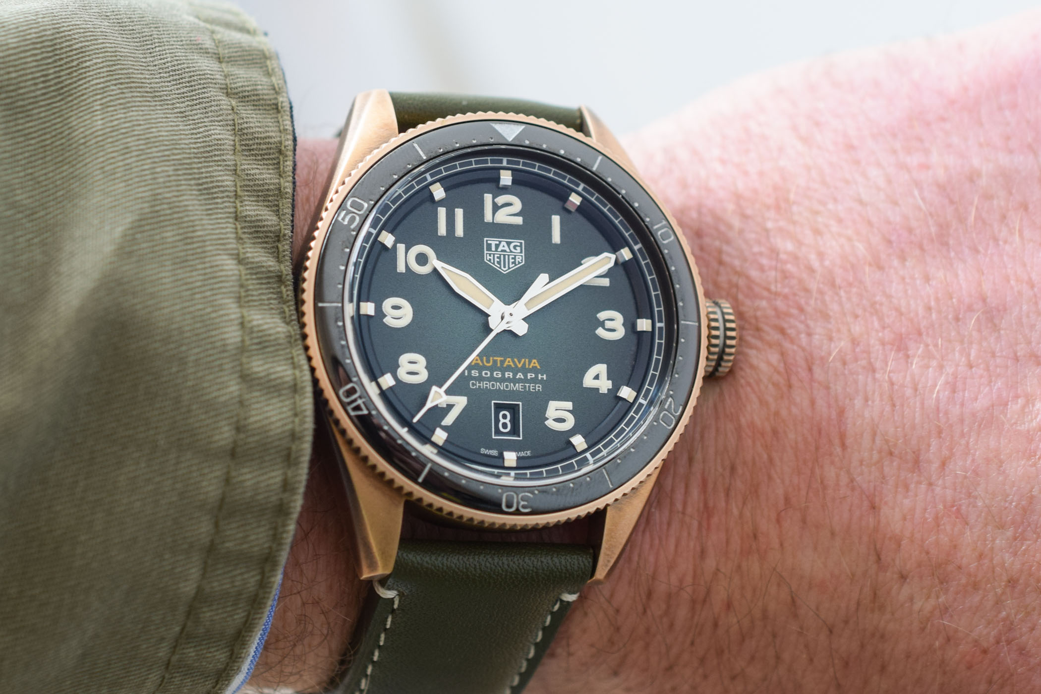 TAG Heuer Autavia Isograph Chronometer - Baselworld 2019 - 11