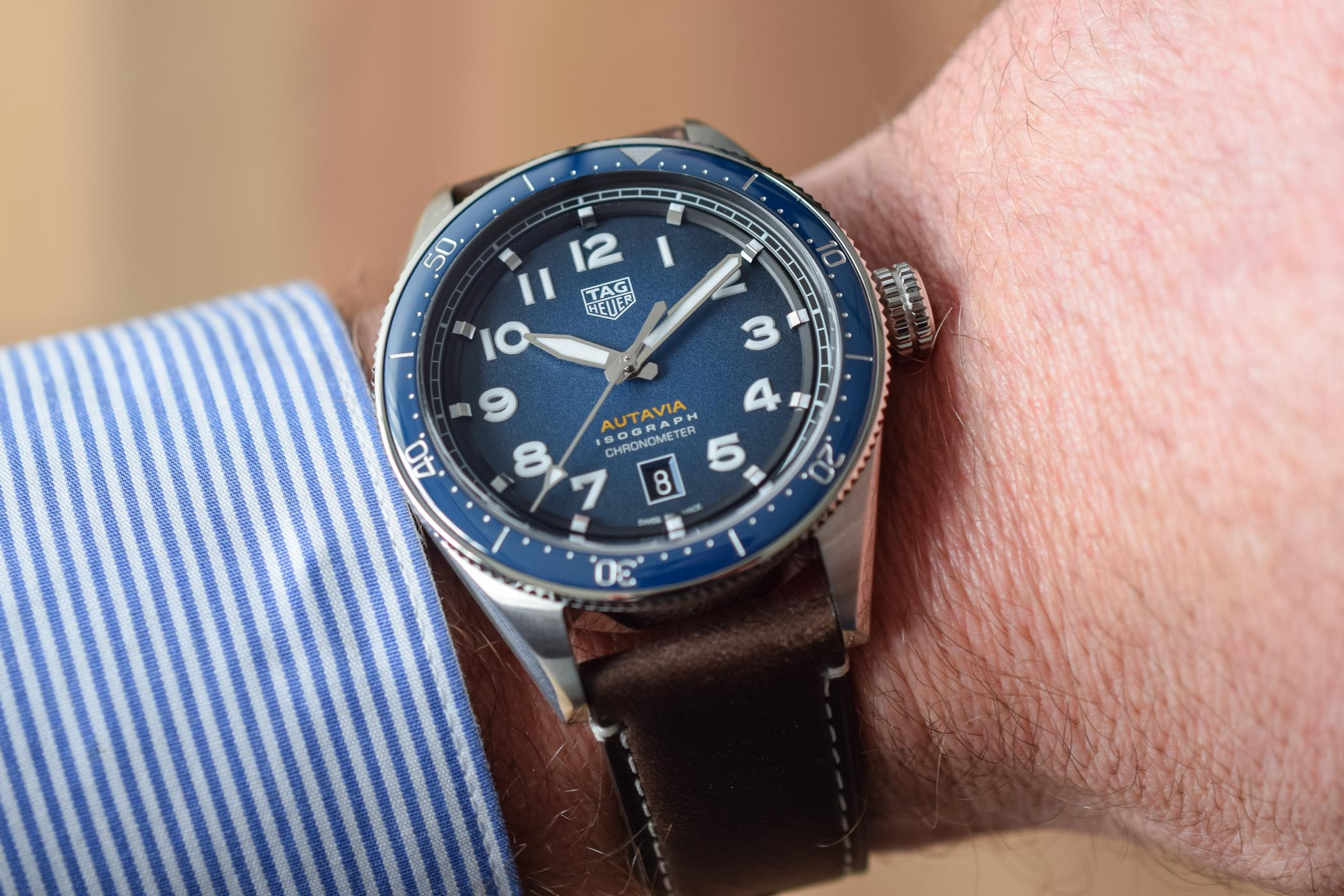 TAG Heuer Autavia Isograph Chronometer - Baselworld 2019 - 4