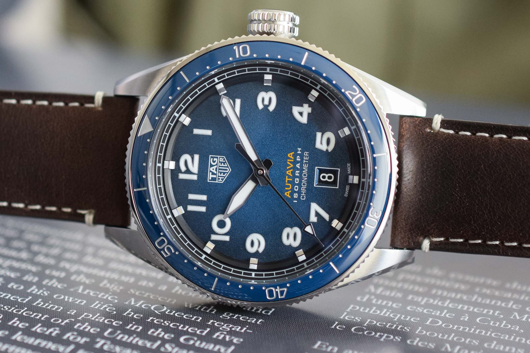 Baselworld 2019 tag heuer autavia isograph chronometer with carbon hairspring specs price for Tag heuer autavia
