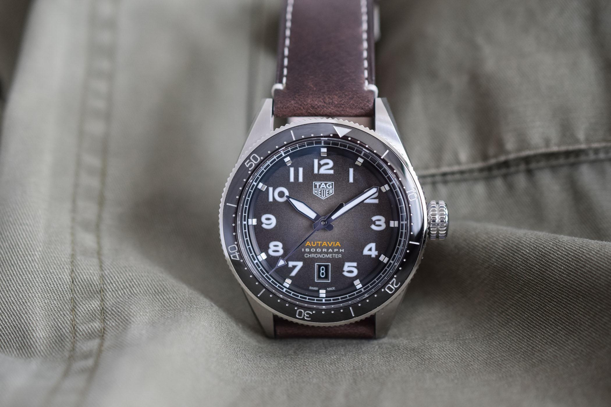 TAG Heuer Autavia Isograph Chronometer - Baselworld 2019 - 8