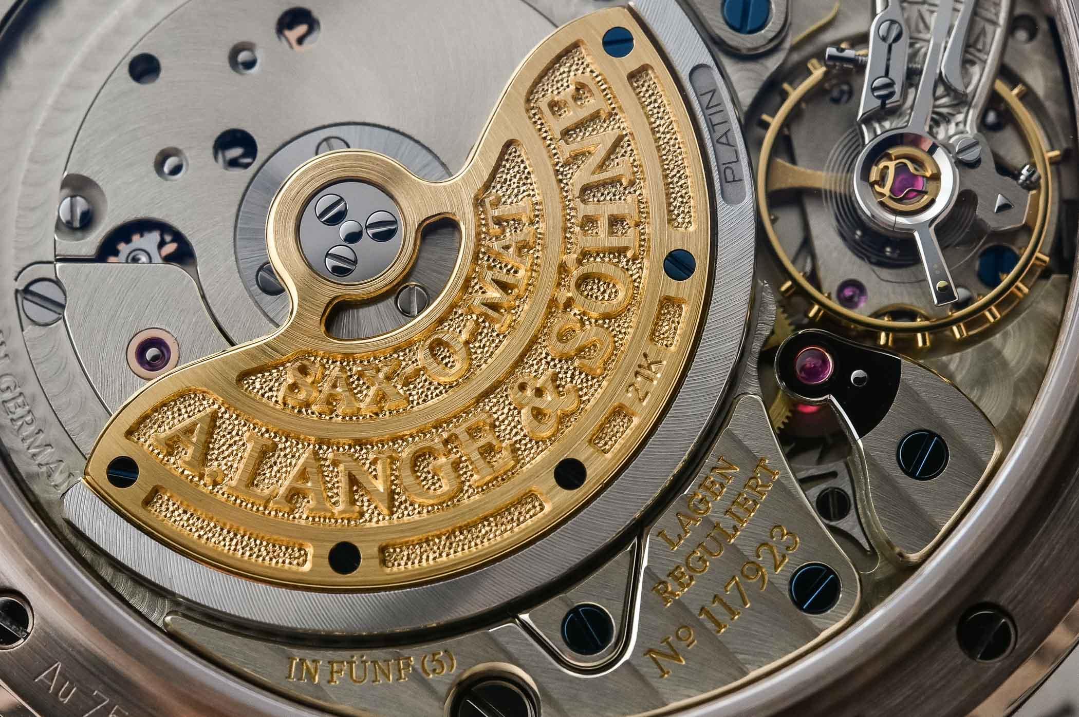A Lange and Sohne Langematik Perpetual Honeygold - 3