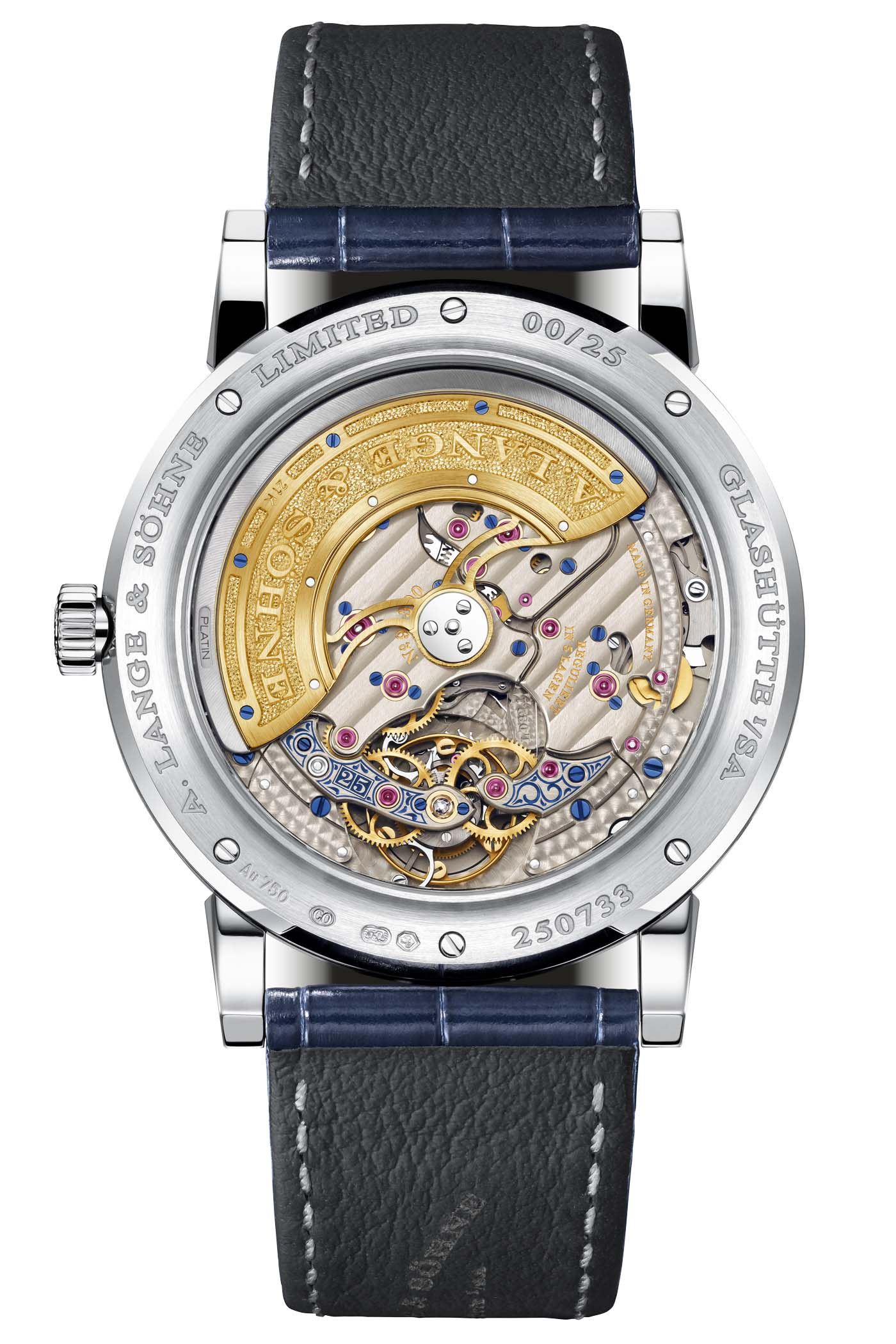 A. Lange and Sohne Lange 1 Tourbillon Perpetual Calendar 25th Anniversary - 1