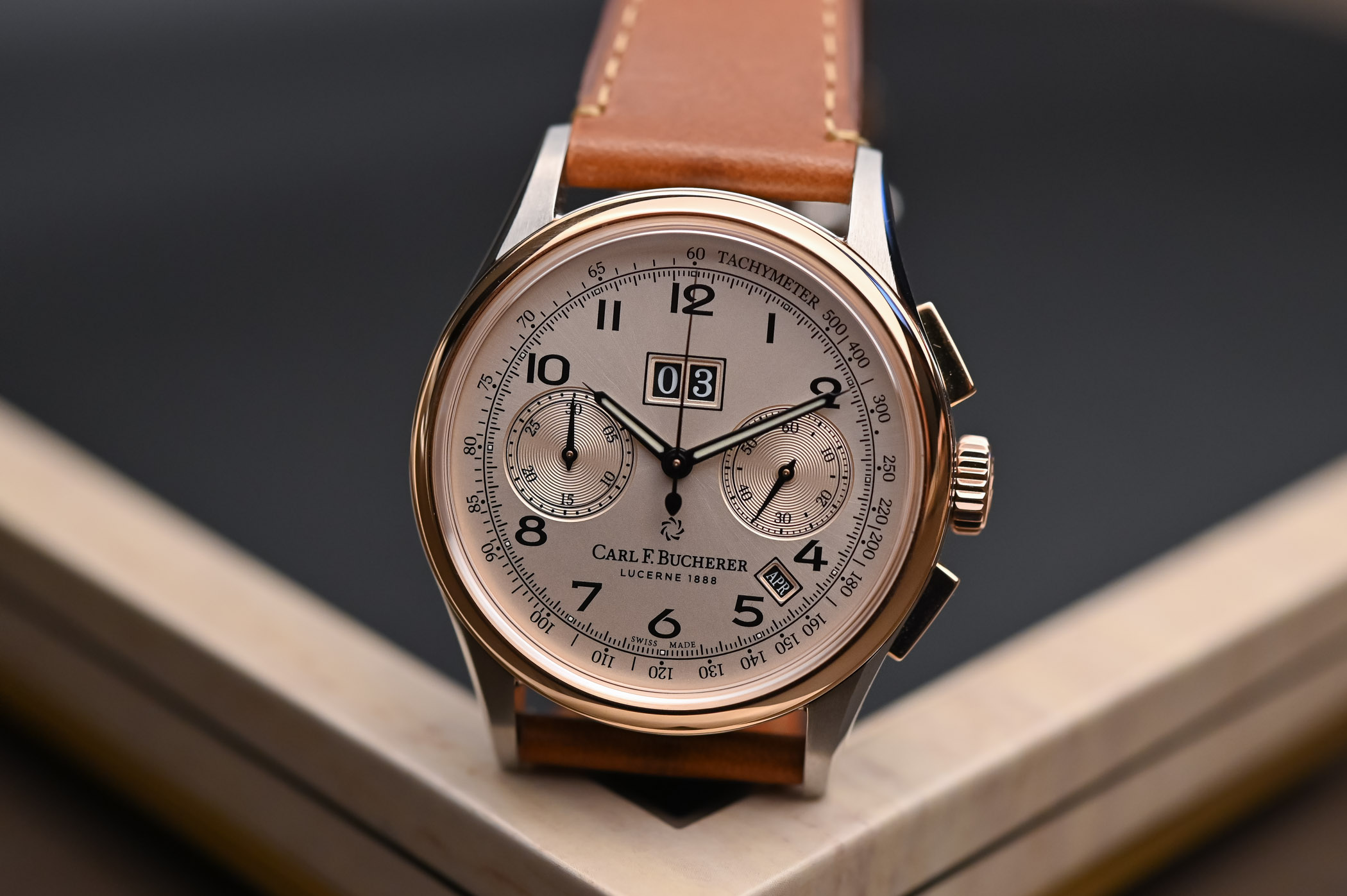 Carl F Bucherer Heritage BiCompax Annual - 4