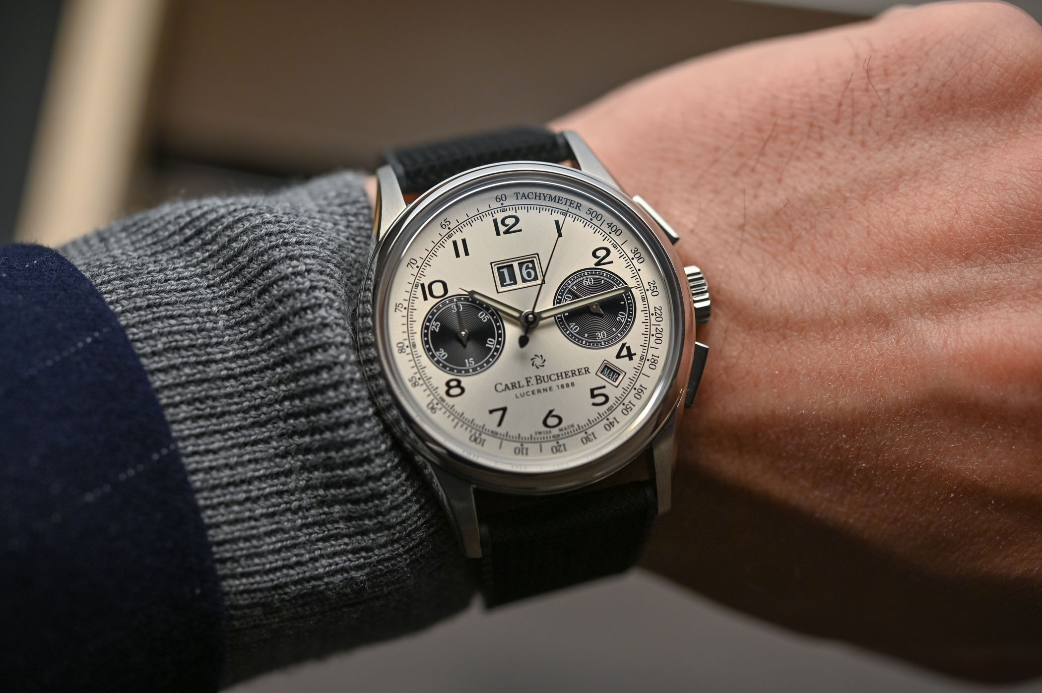 Carl F Bucherer Heritage BiCompax Annual - 6