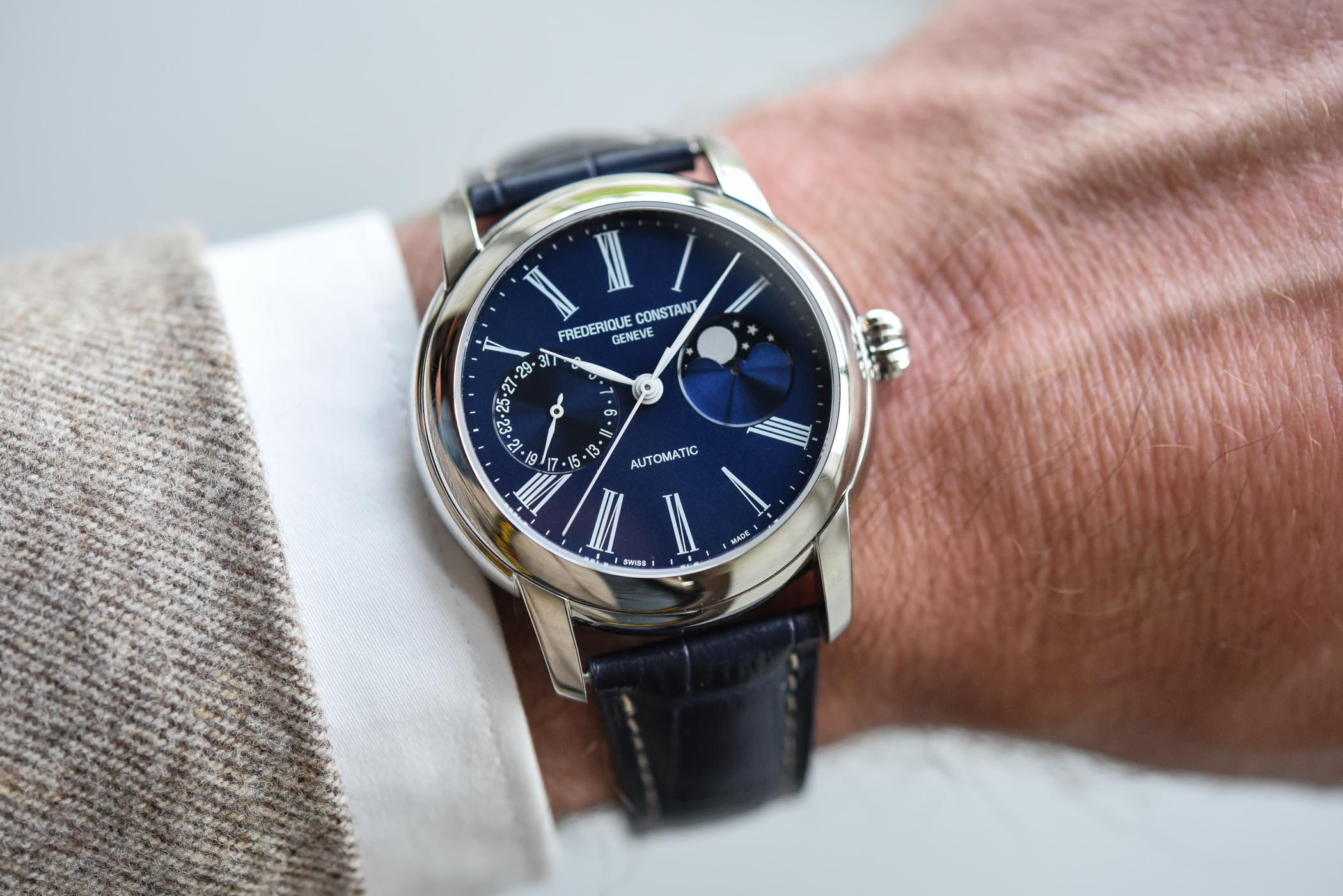 Hands-On - Frederique Constant Classics Moonphase Manufacture (Specs &  Price)