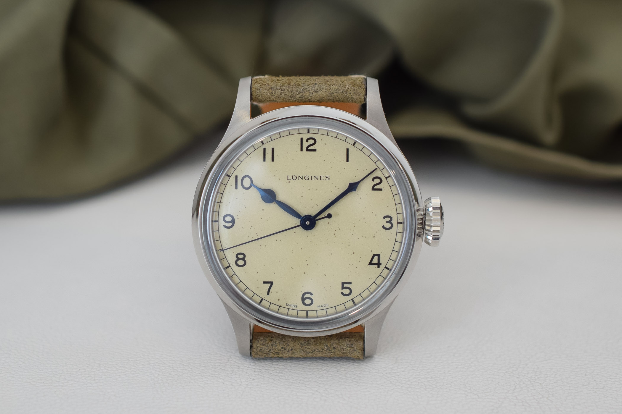 f54083d3f Review - Longines Heritage Military RAF 6B/159 Re-Edition (Specs ...