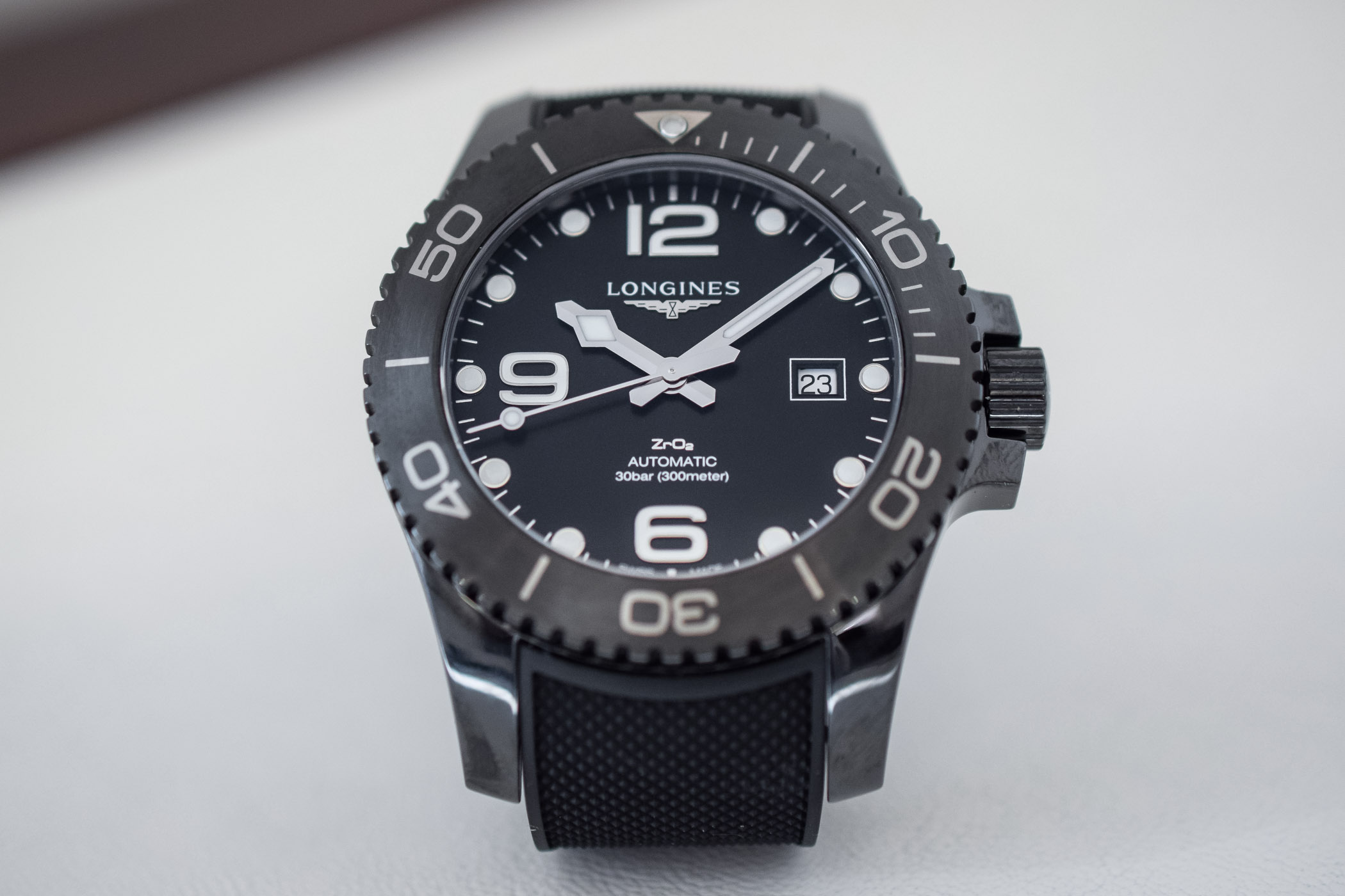 Longines HydroConquest Full Black Ceramic L3.784.4.56.9 - 9