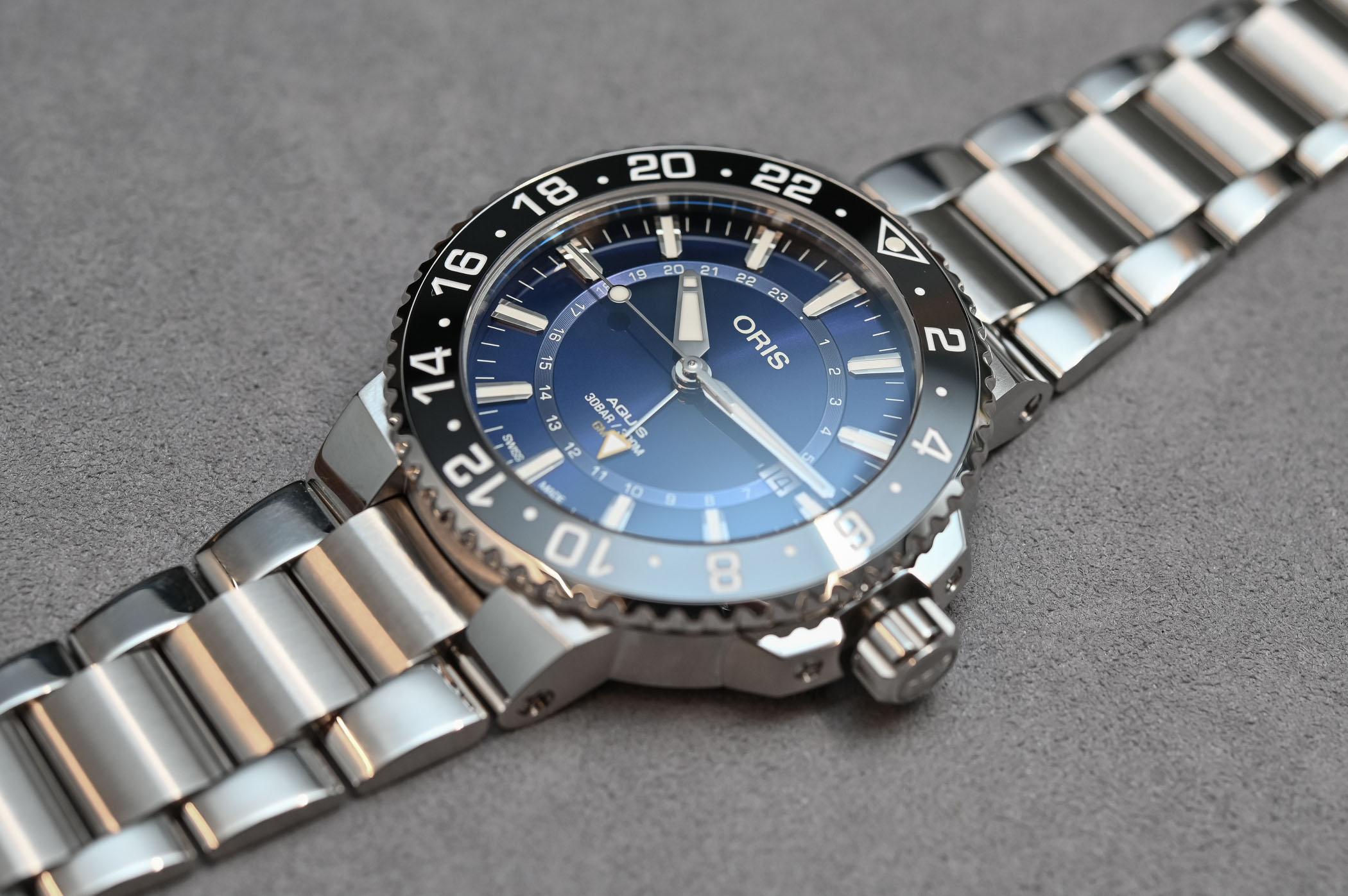 Oris Aquis GMT Date - 2