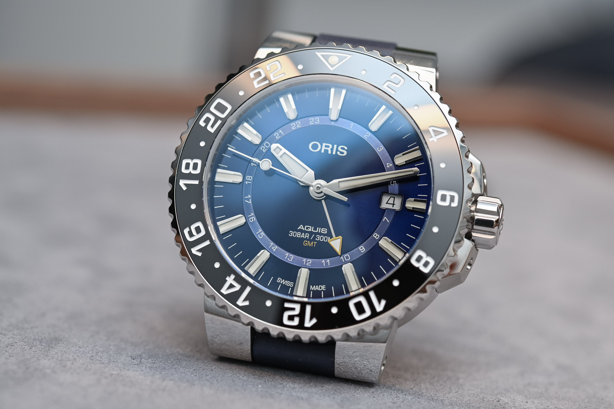 Oris Aquis GMT Date - 6