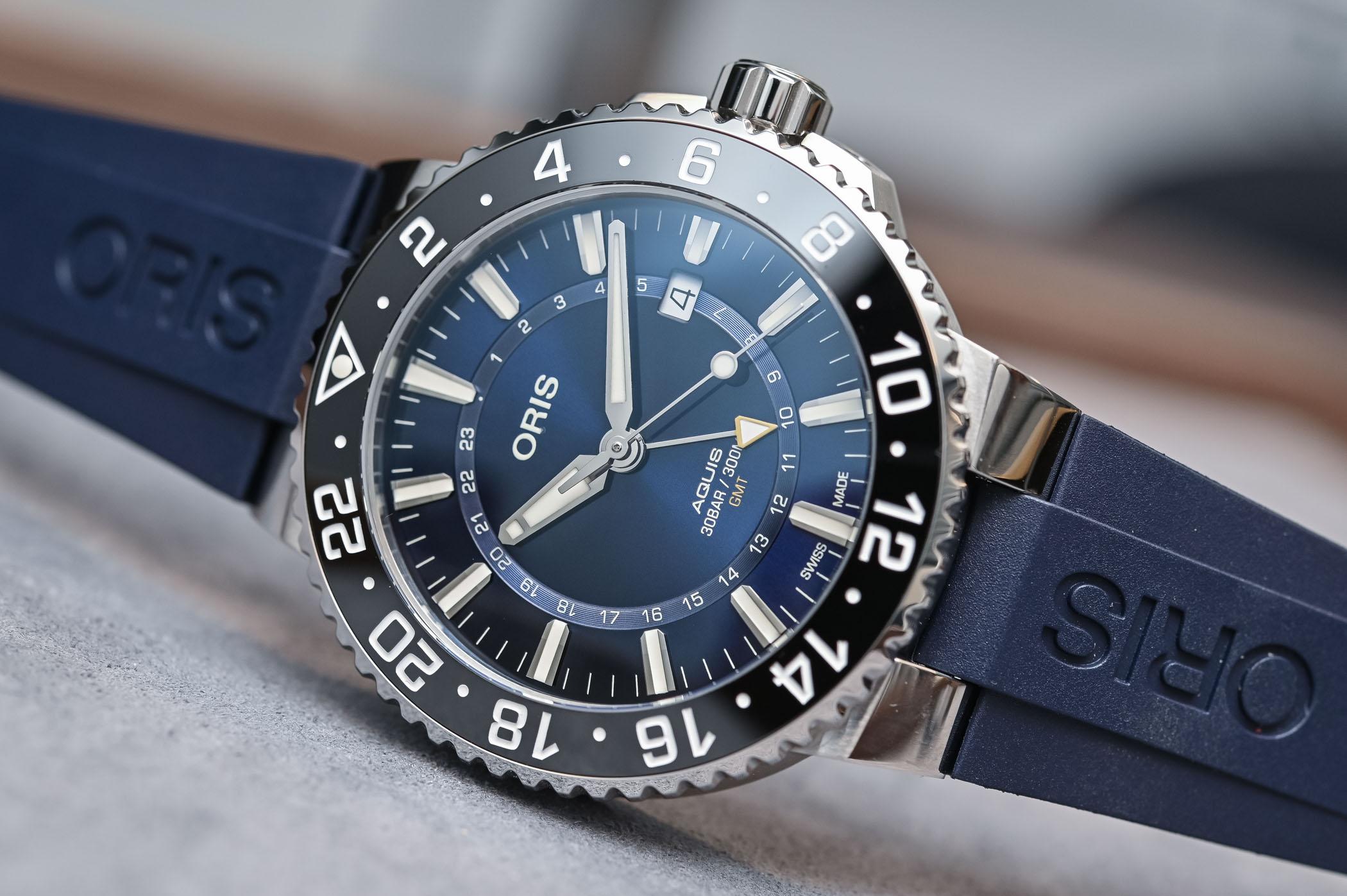 Oris Aquis GMT Date - 7