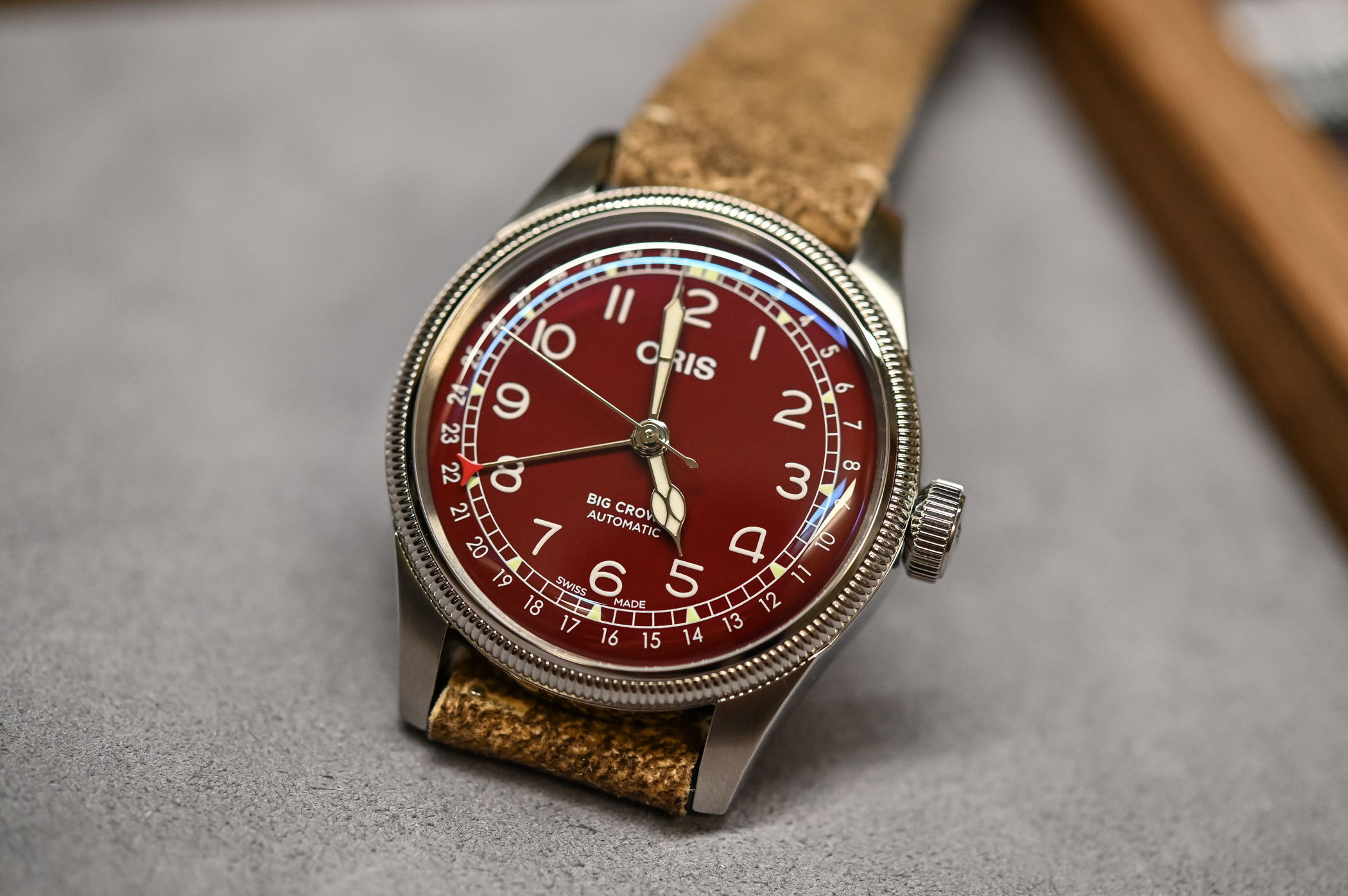 Oris Big Crown Pointer Date Red Dial - 1