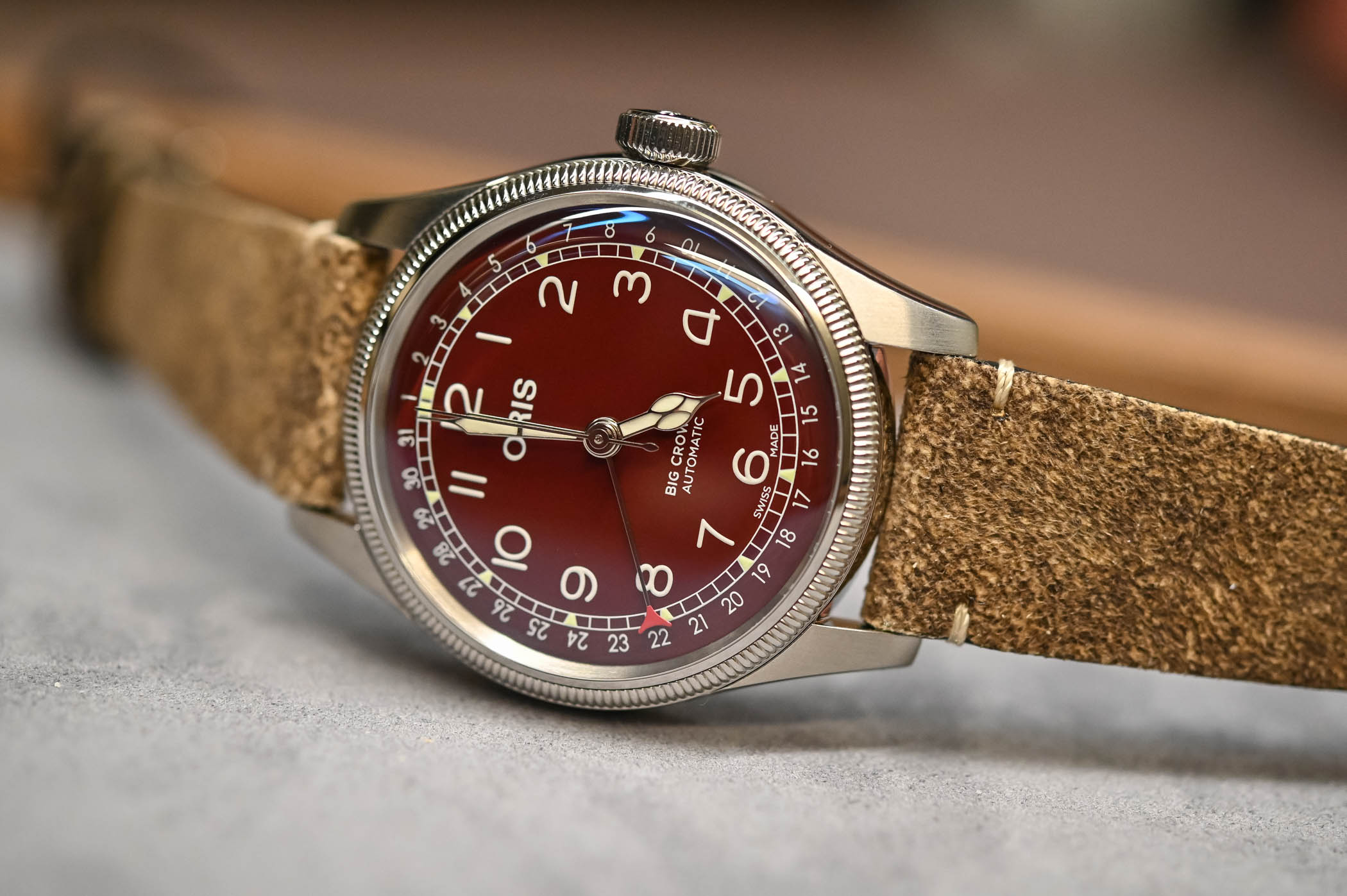 Oris Big Crown Pointer Date Red Dial - 2