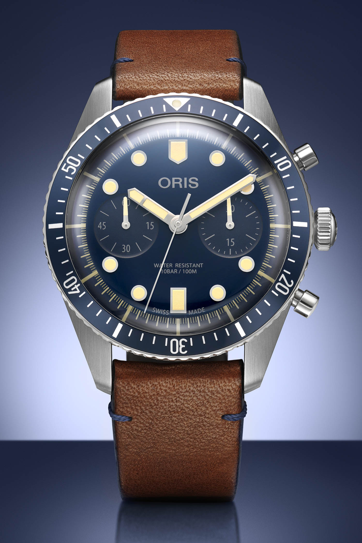 Oris Divers Sixty-Five Chronograph Bucherer Blue Editions - 1