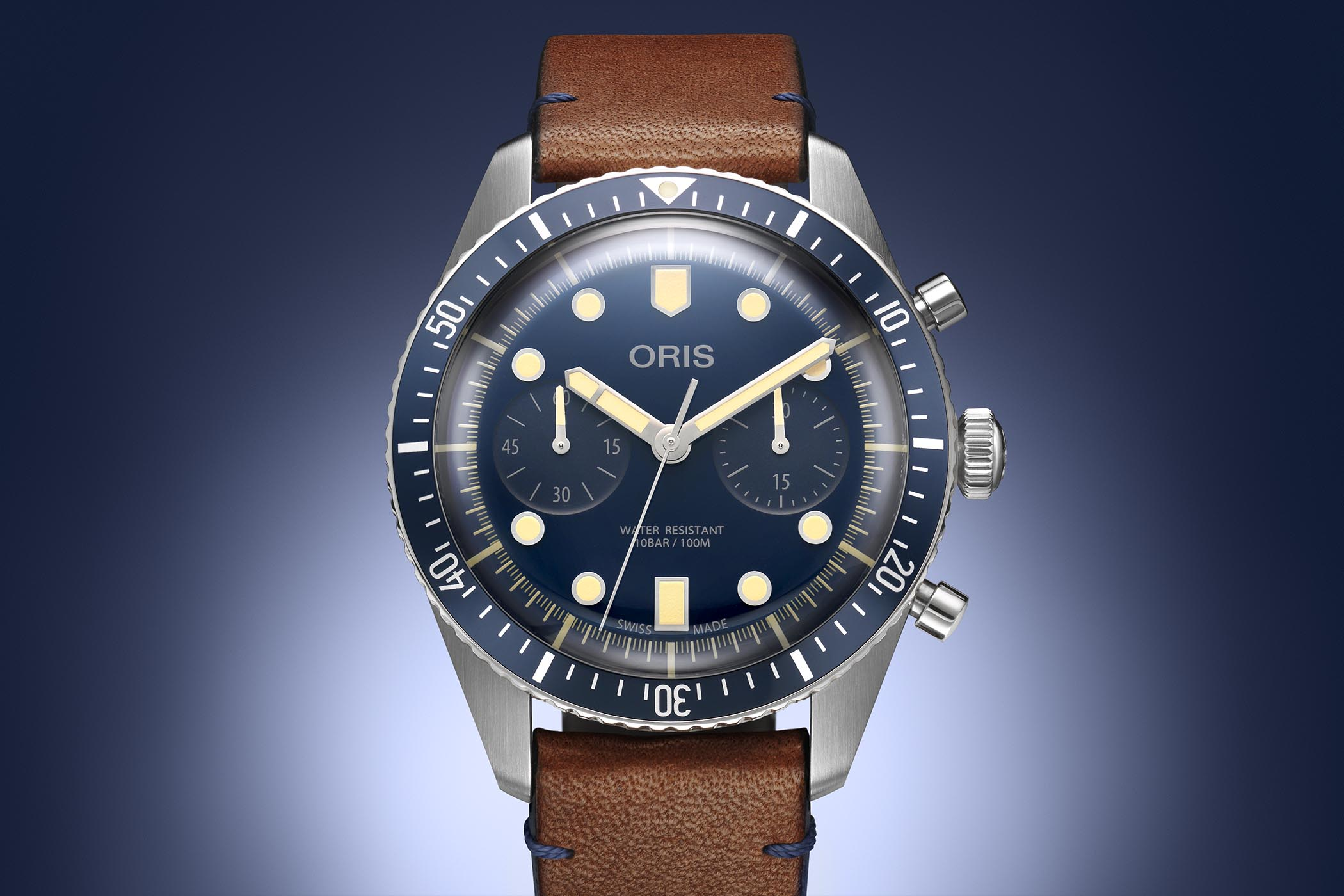 Oris Divers Sixty-Five Chronograph Bucherer Blue Editions - 6