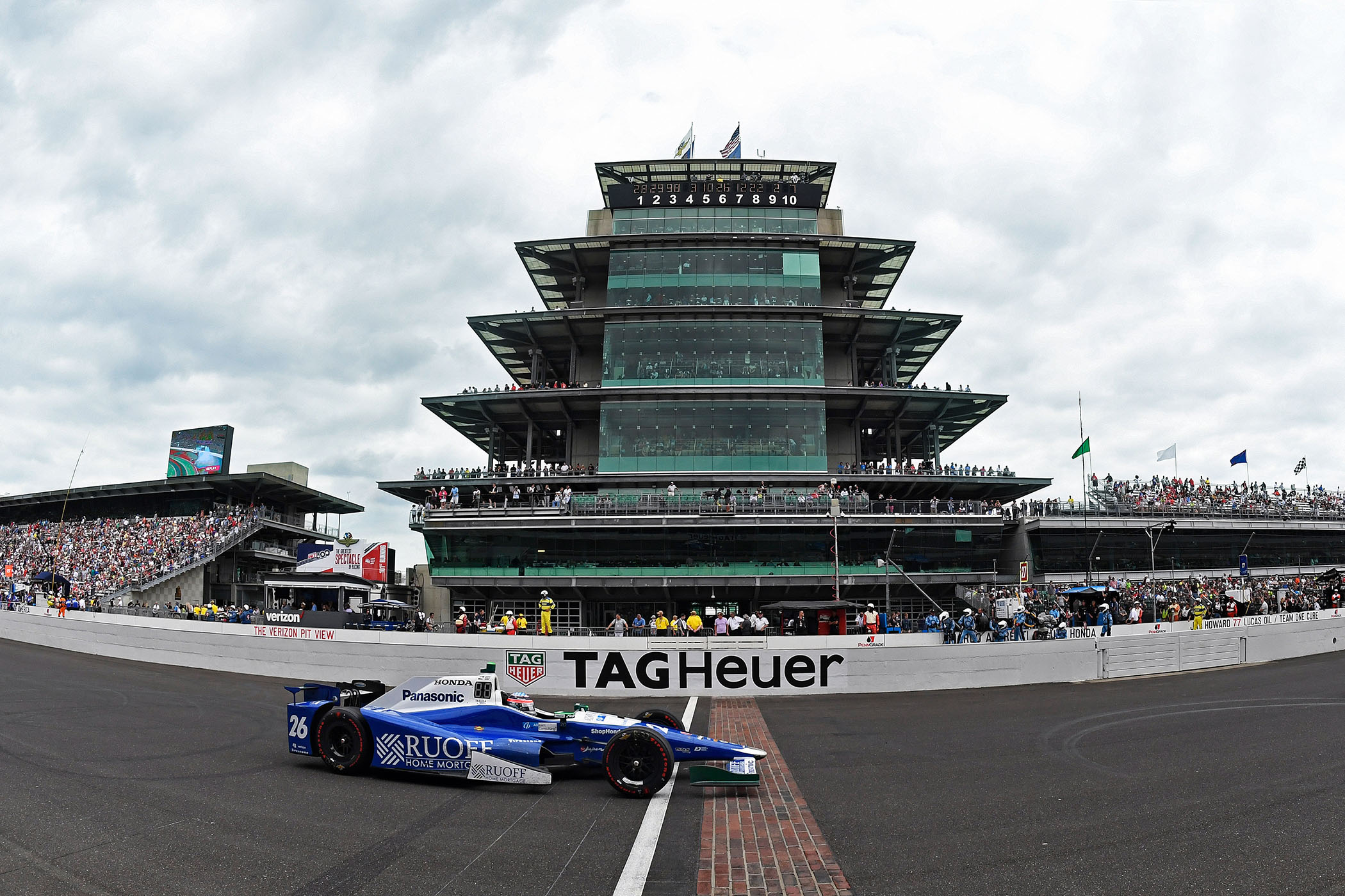 TAG Heuer - Indy 500 Track - 1
