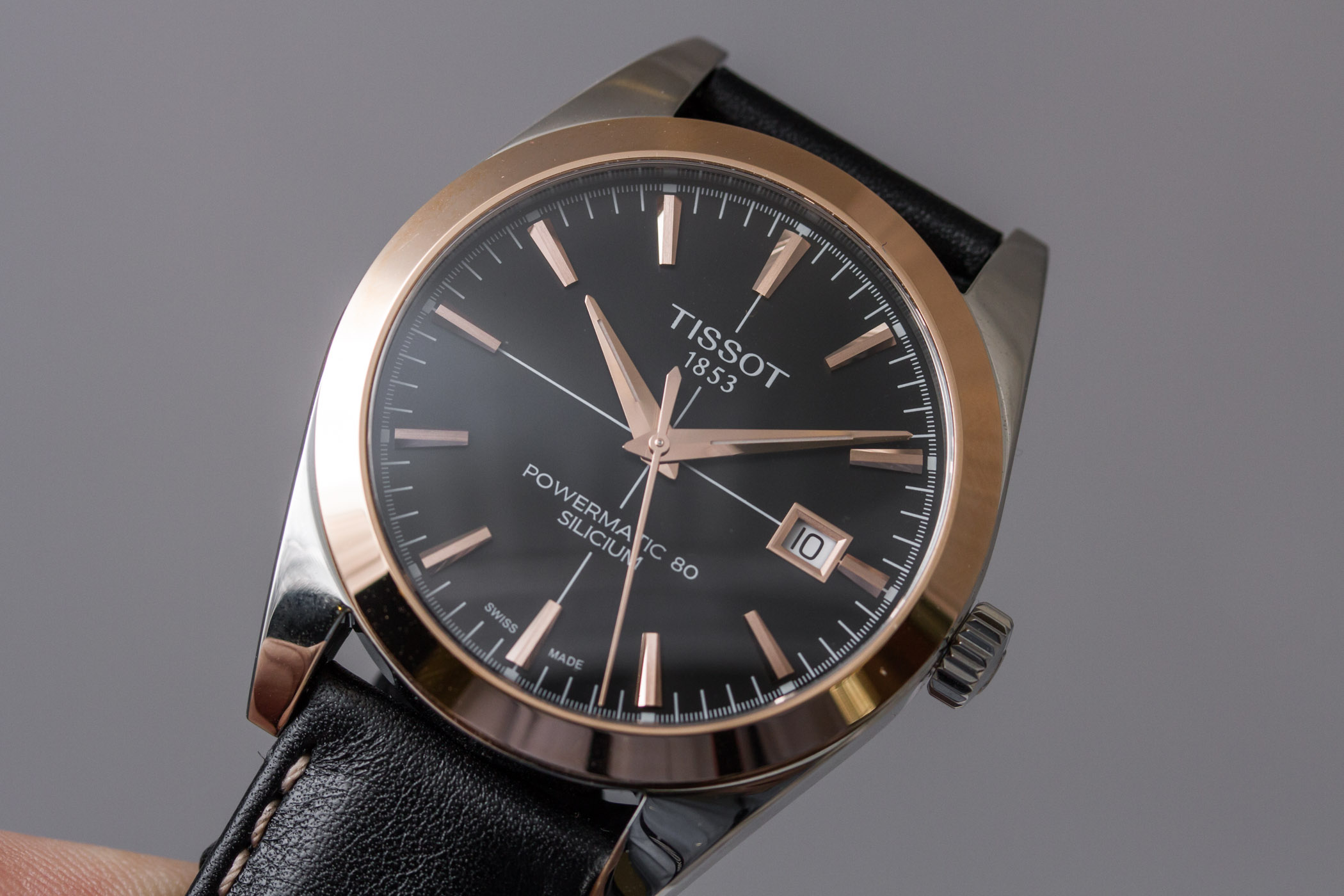 Tissot Gentleman Powermatic 80 Two-Tone Steel-and-Gold - 5
