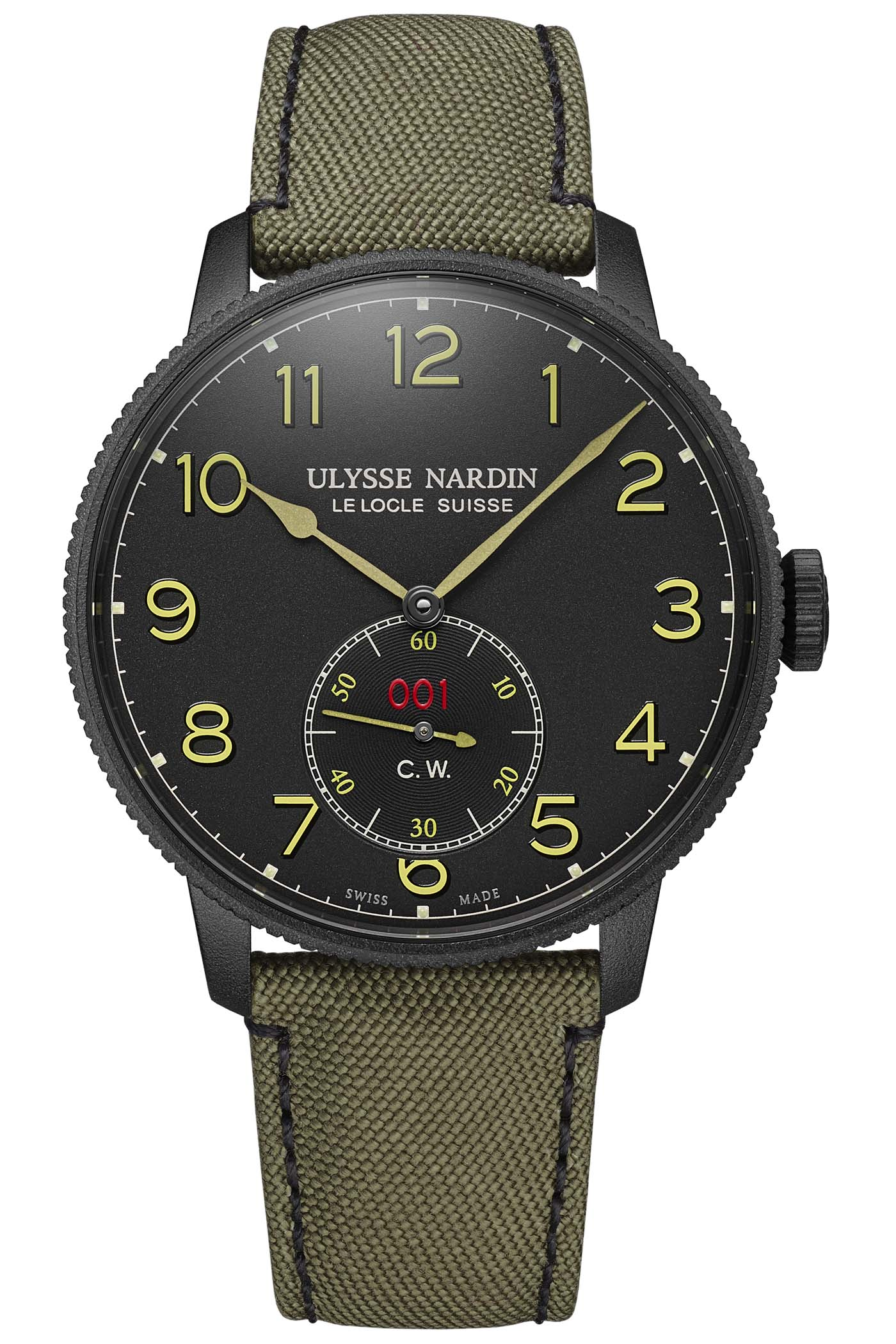 Ulysse Nardin Marine Torpilleur Military Black-and-Khaki - 1