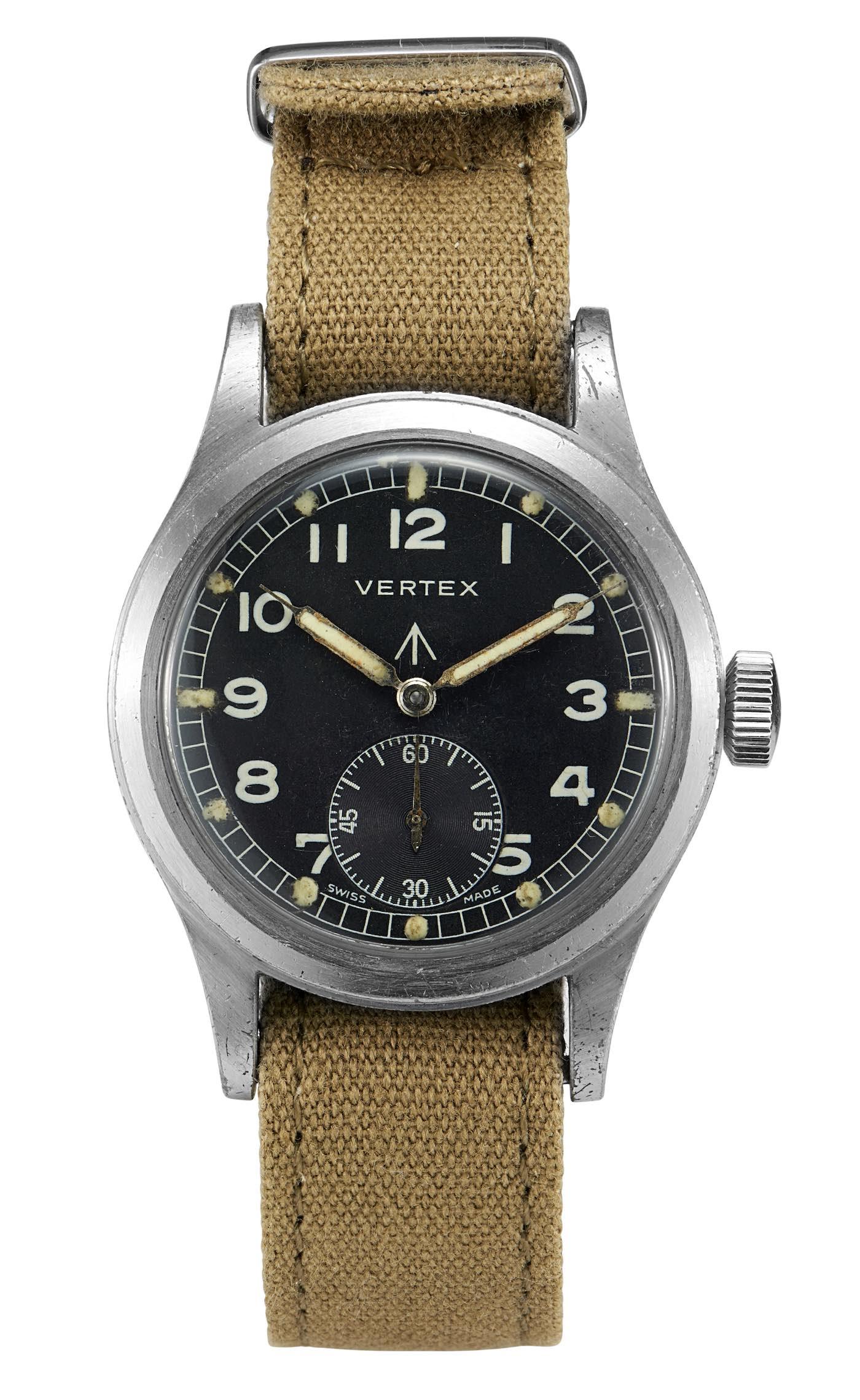 Vertex Watches Dirty Dozen Military Watch Vintage