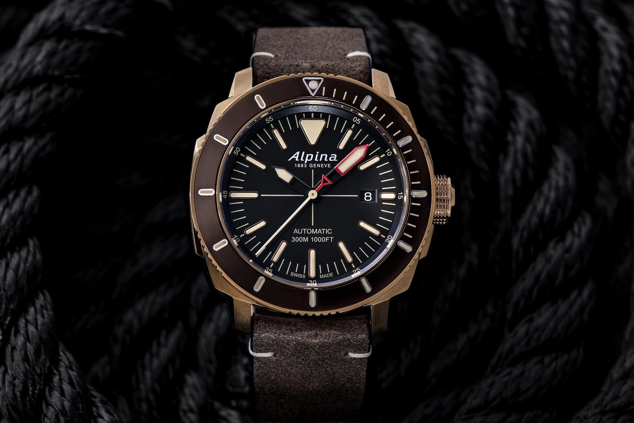 Alpina Watches Seastrong Diver 300 Automatic 2019 Collection