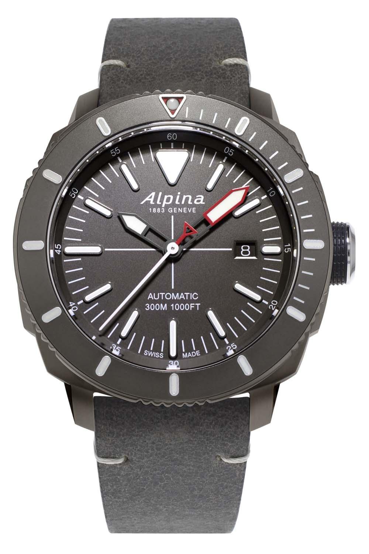 Alpina Watches Seastrong Diver 300 Automatic PVD Titanium AL-525LGGW4TV6