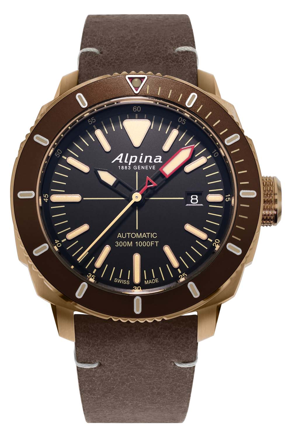 Alpina Watches Seastrong Diver 300 Automatic PVD bronze AL-525LBBR4V4