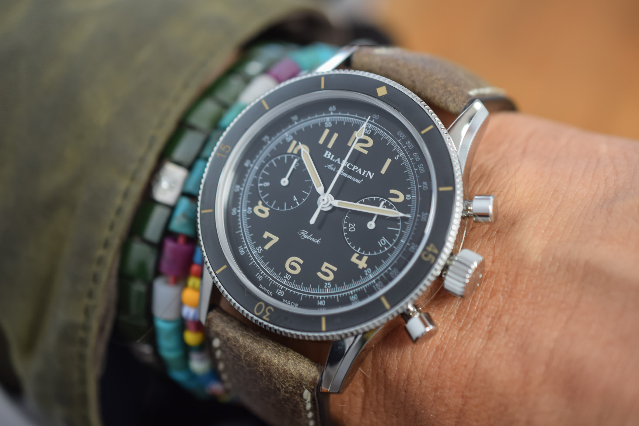 Blancpain Air Command Chronograph Re-Edition 2019 reference AC01-1130-63A