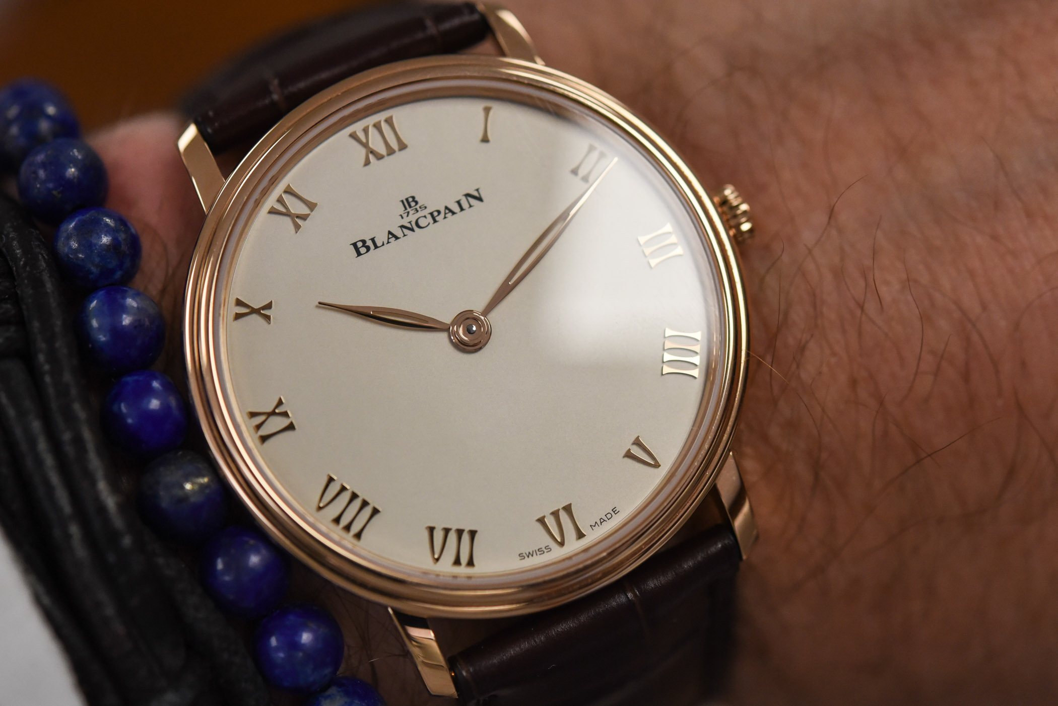 Blancpain Villeret Extra Plate 6605