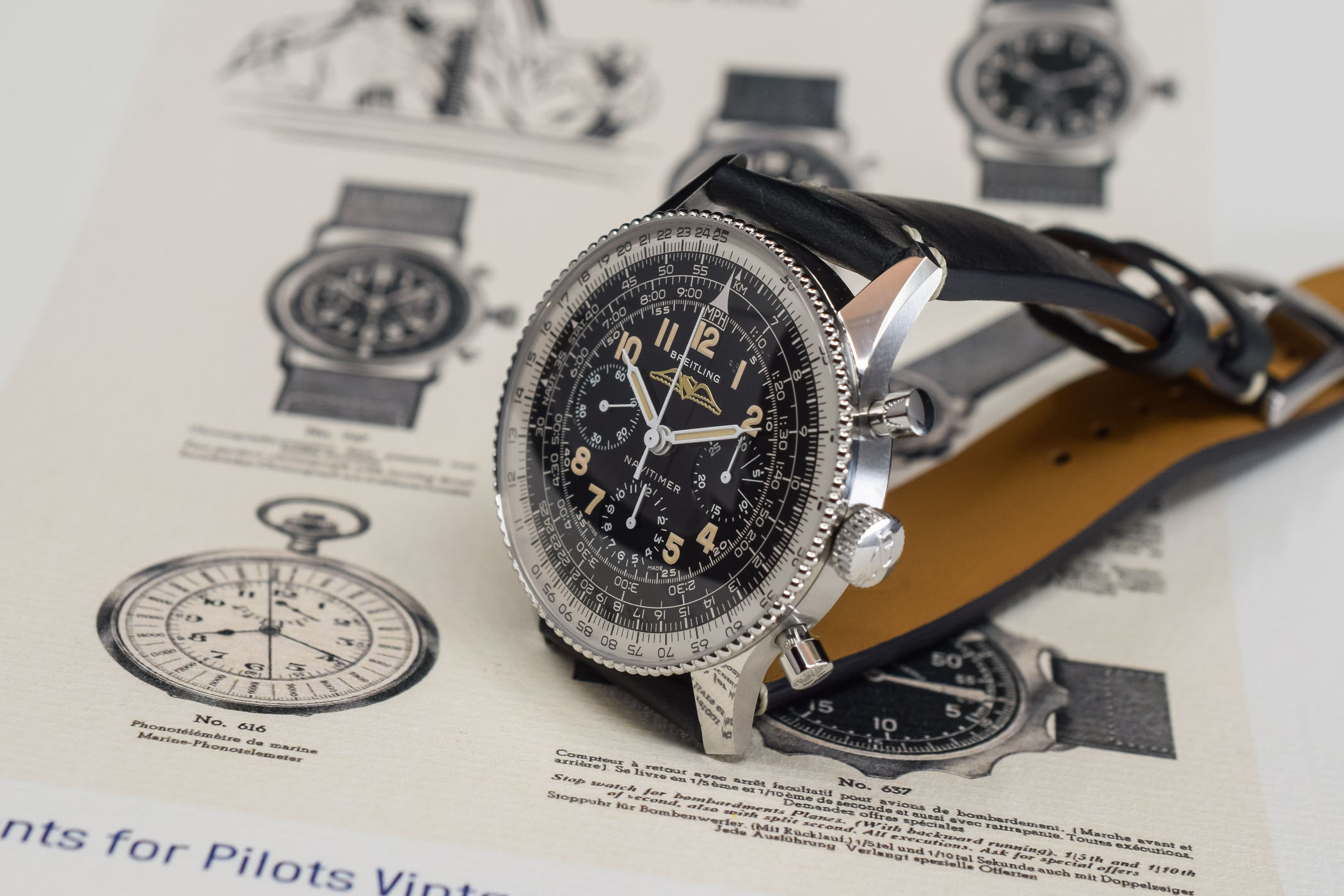 Breitling Navitimer Ref 806 1959 Re‑Edition - review - 11