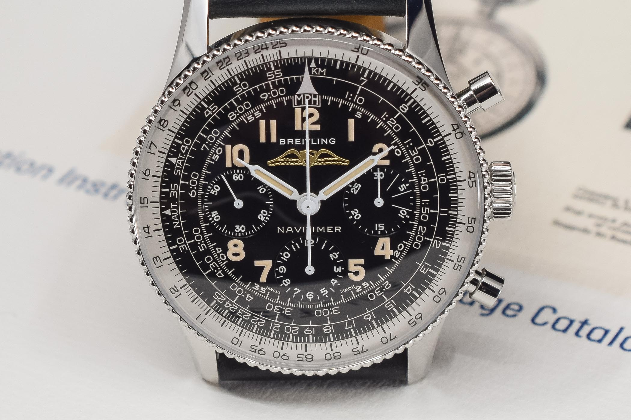 Breitling Navitimer Ref 806 1959 Re‑Edition - review - 5
