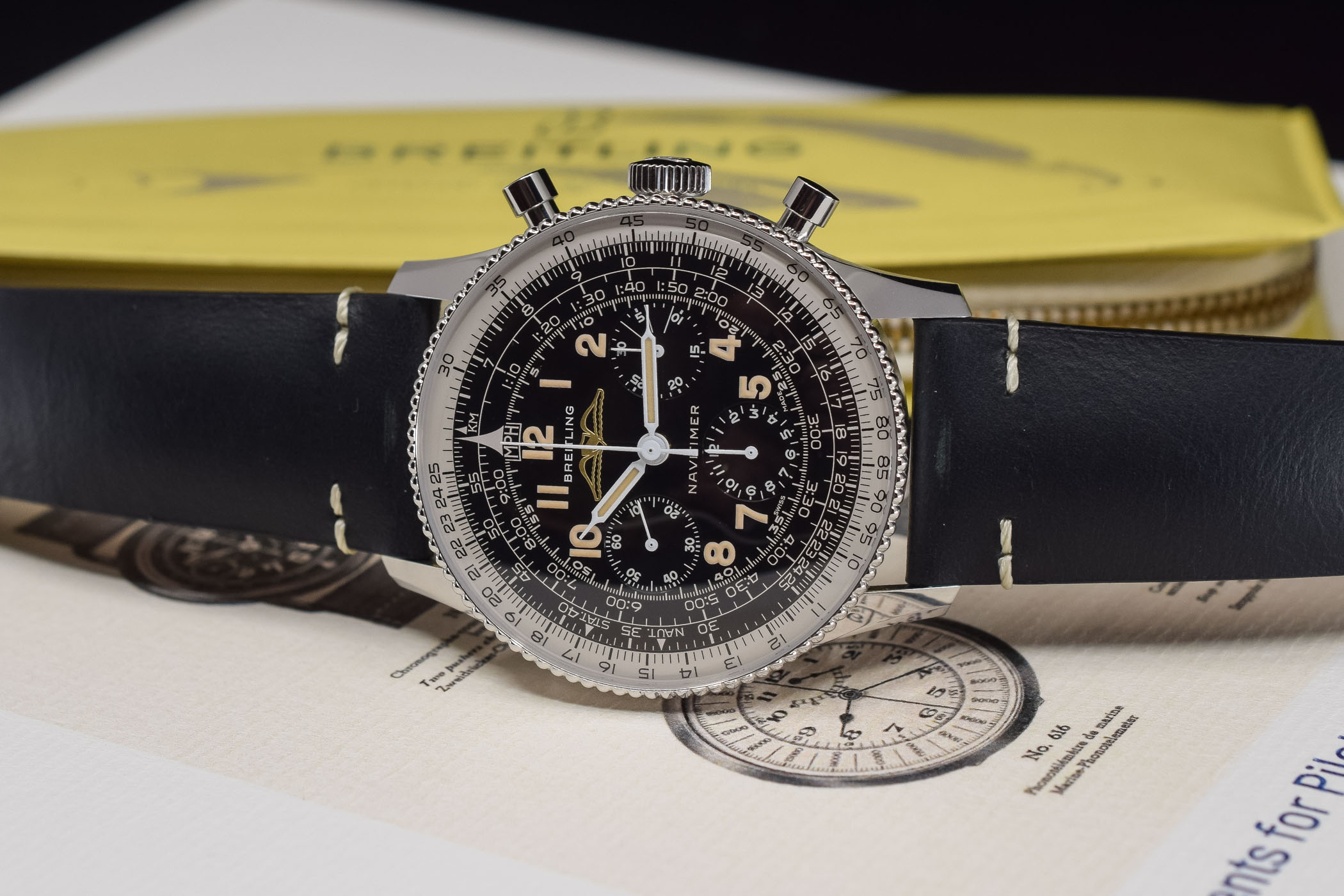 Breitling Navitimer Ref 806 1959 Re‑Edition - review - 7