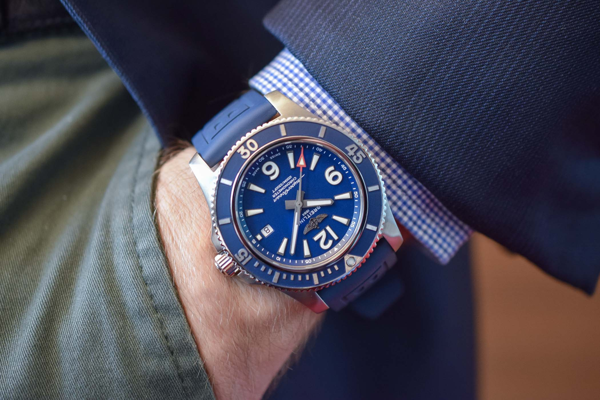 Hands-On - The 2019 Breitling Superocean Automatic 44 (Specs & Price)