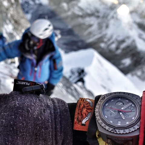 Favre Leuba Bivouac 9000 Adrian Ballinger Summit Mount Everest auction antiquorum - 13
