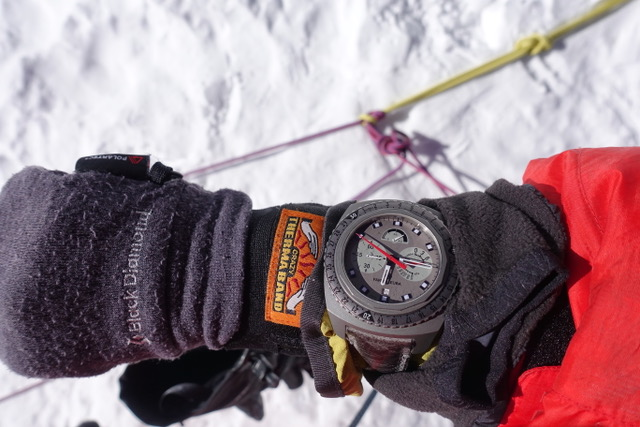 Favre Leuba Bivouac 9000 Adrian Ballinger Summit Mount Everest auction antiquorum - 14