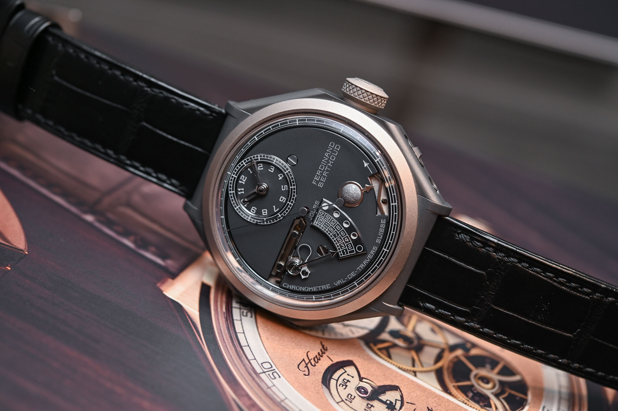 Ferdinand Berthoud Chronometre FB 1L Moon - Review - 1