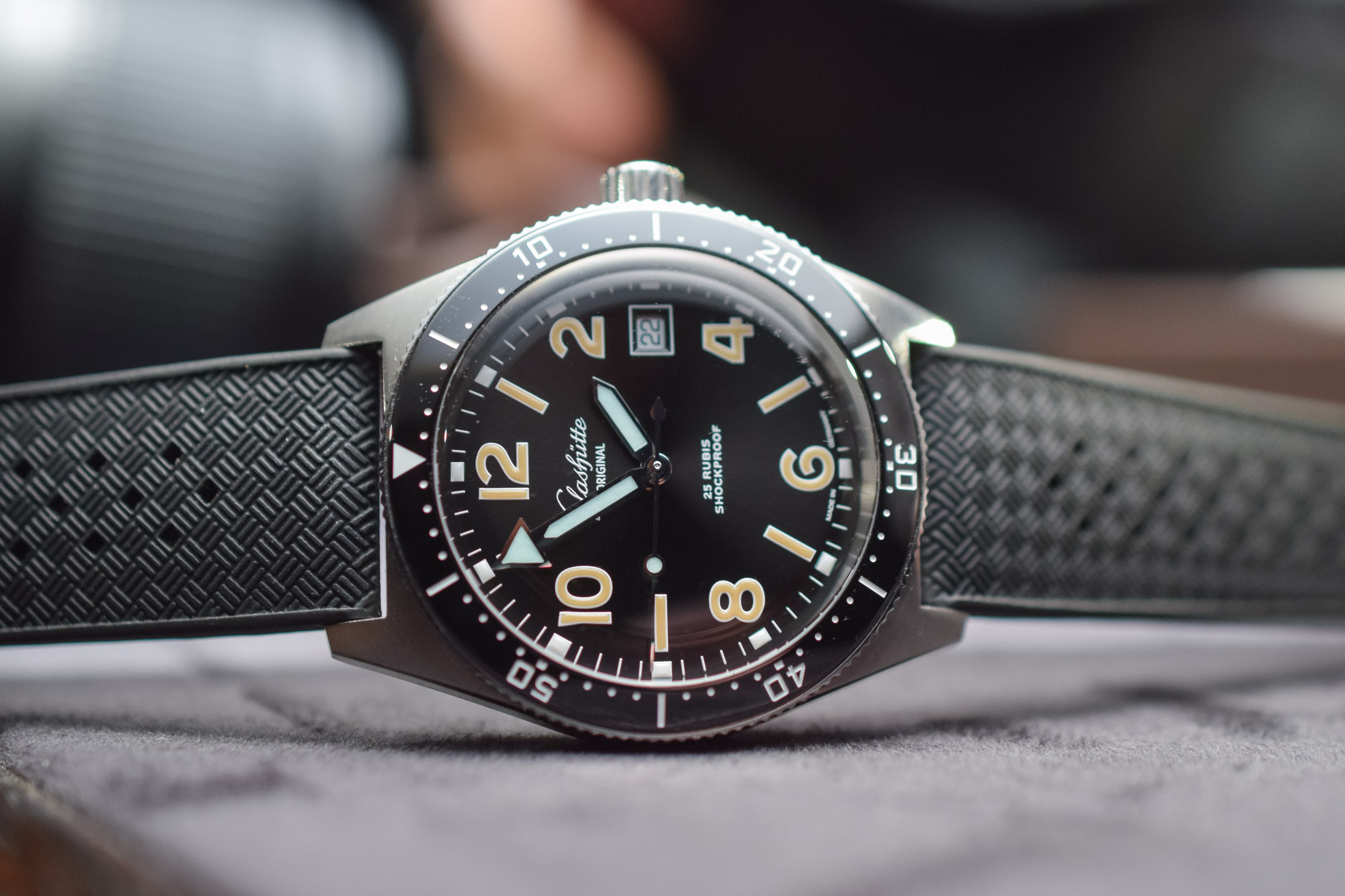 Glashutte Original SeaQ 1969 Limited Edition Dive Watch - 1