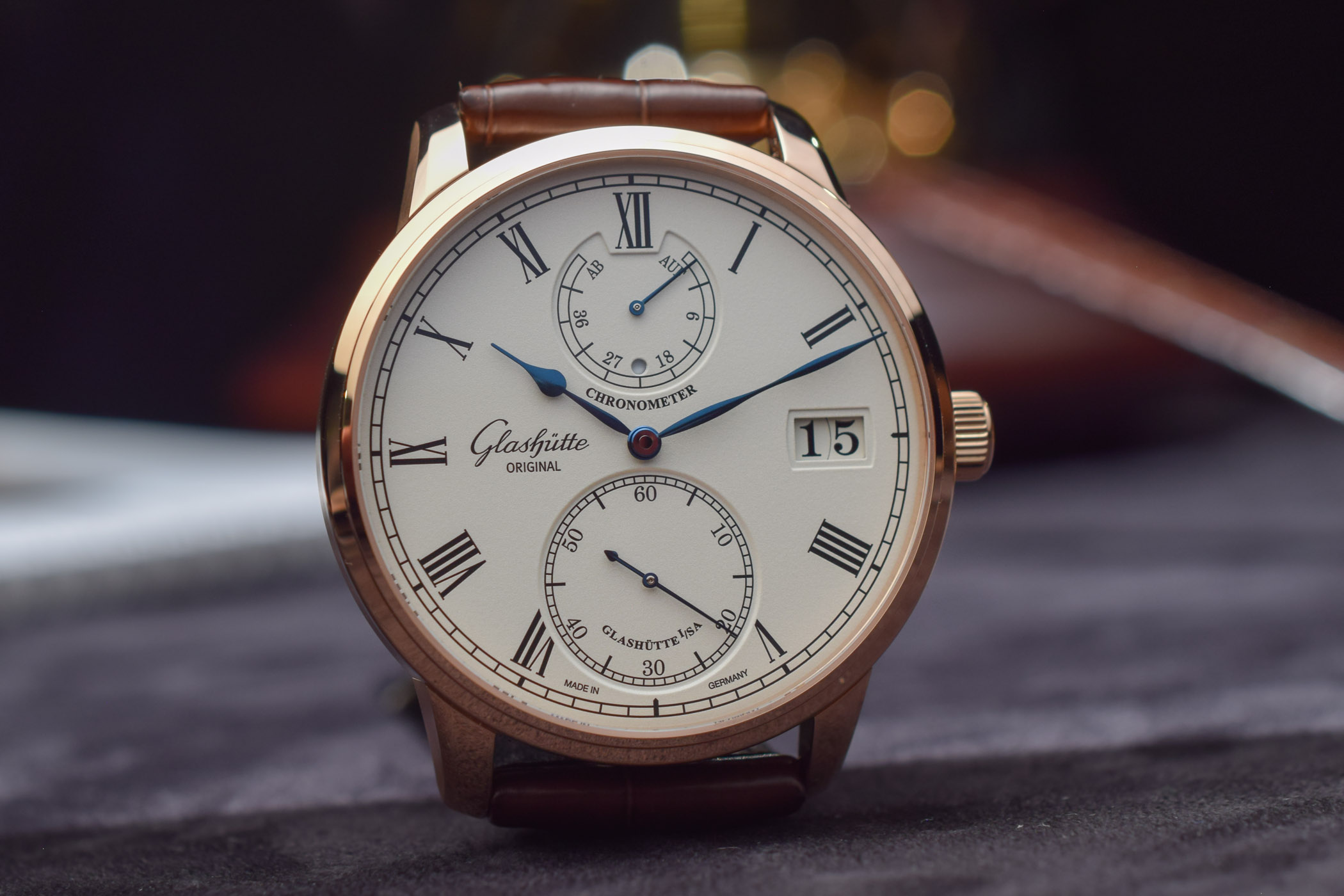 Glashutte Original Senator Chronometer 2019 facelift