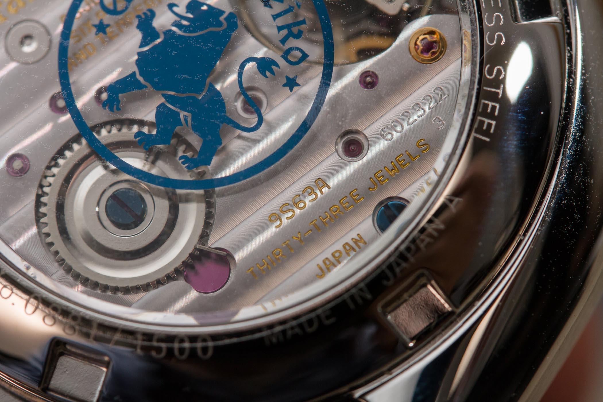 Grand Seiko Elegance Limited Edition Steel SBGK005G