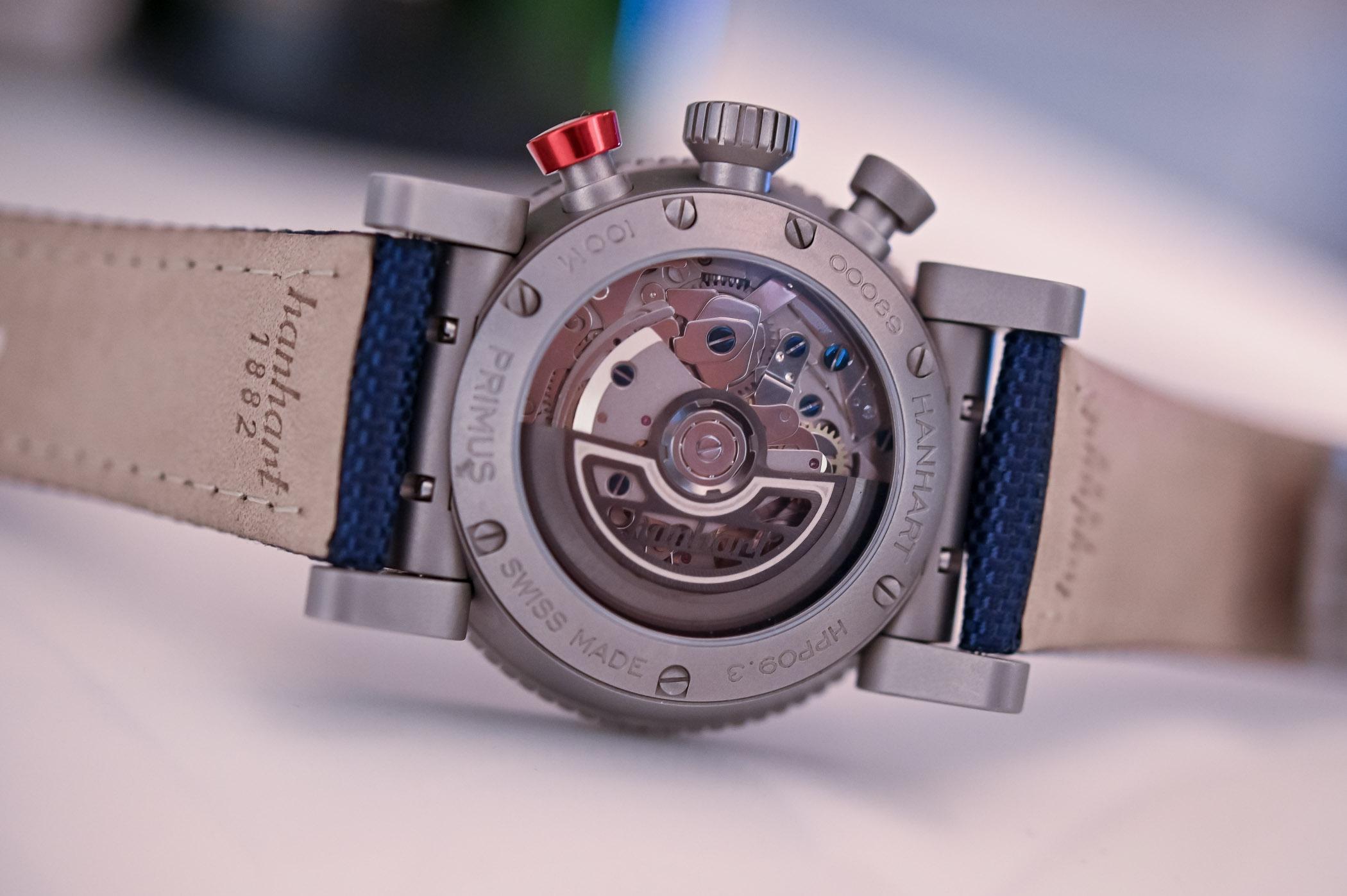 Hanhart Primus Carrier Pilot Chronograph
