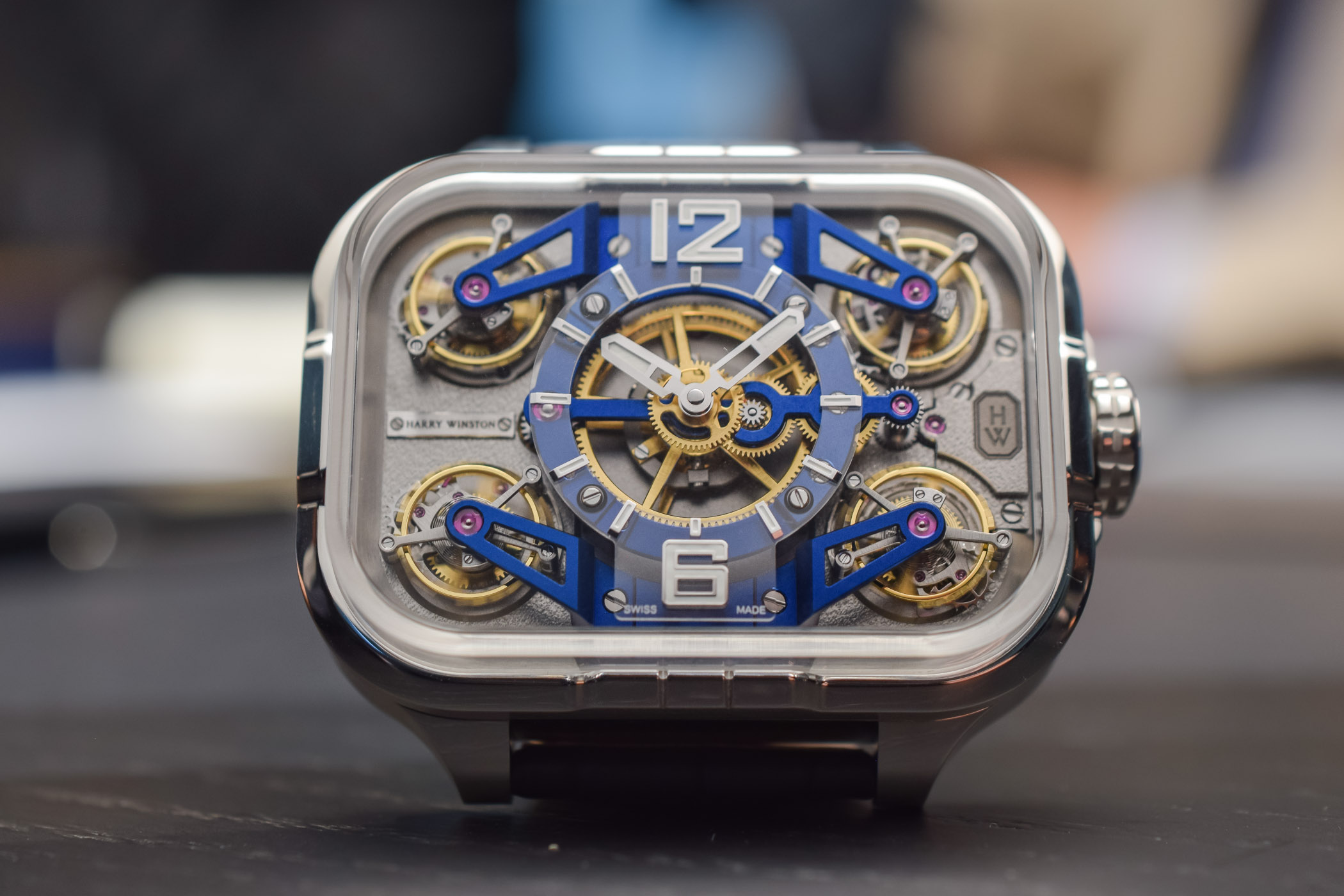 Harry Winston Histoire de Tourbillon 10 - First Watch Ever with 4 Tourbillons