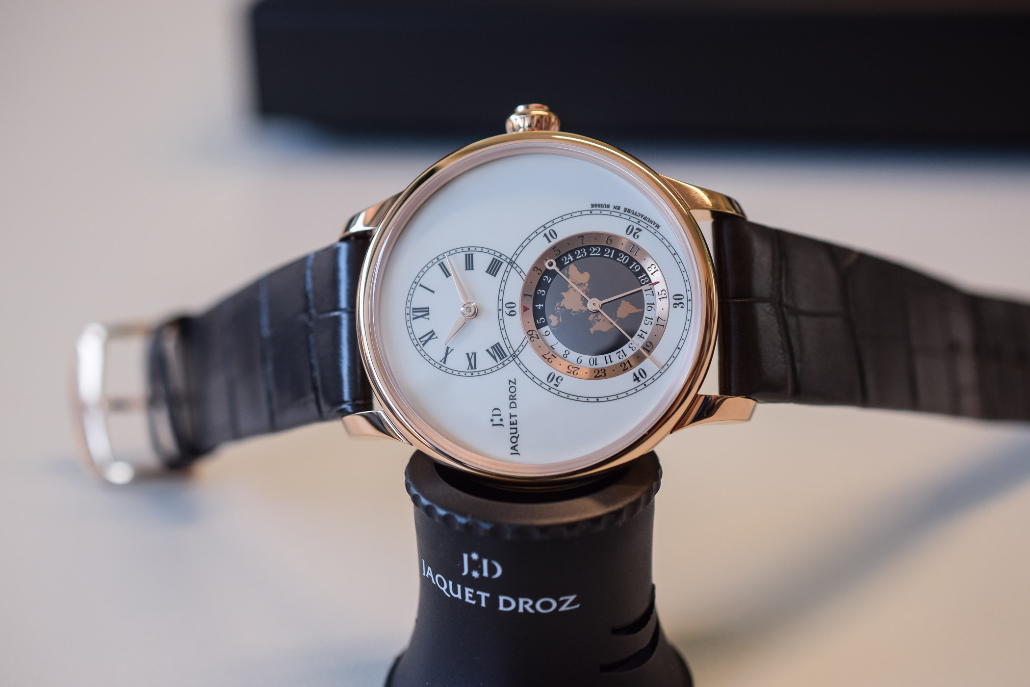 Jaquet Droz Grande Seconde Dual Time 2019
