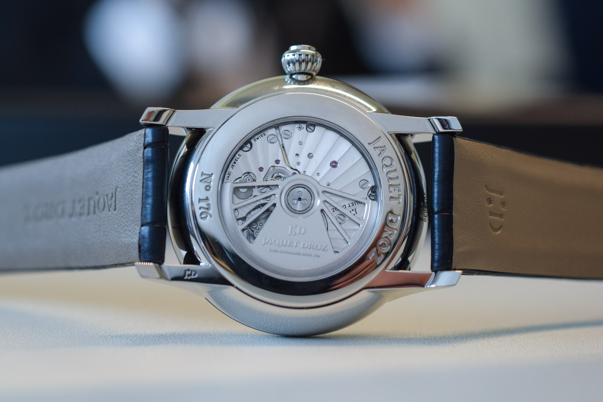 Jaquet Droz Grande Seconde Dual Time 2019