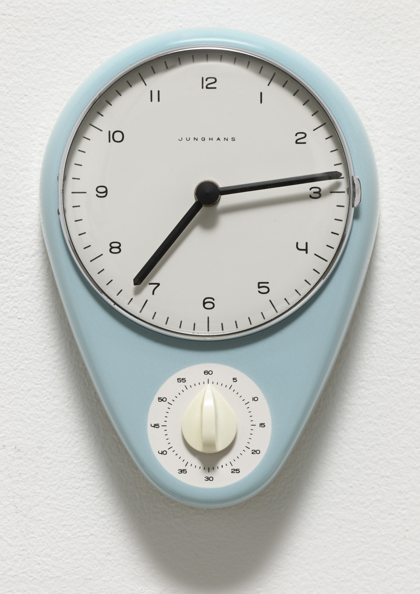 Junghans Kitchen Clock by Max Bill - Photo by MOMA