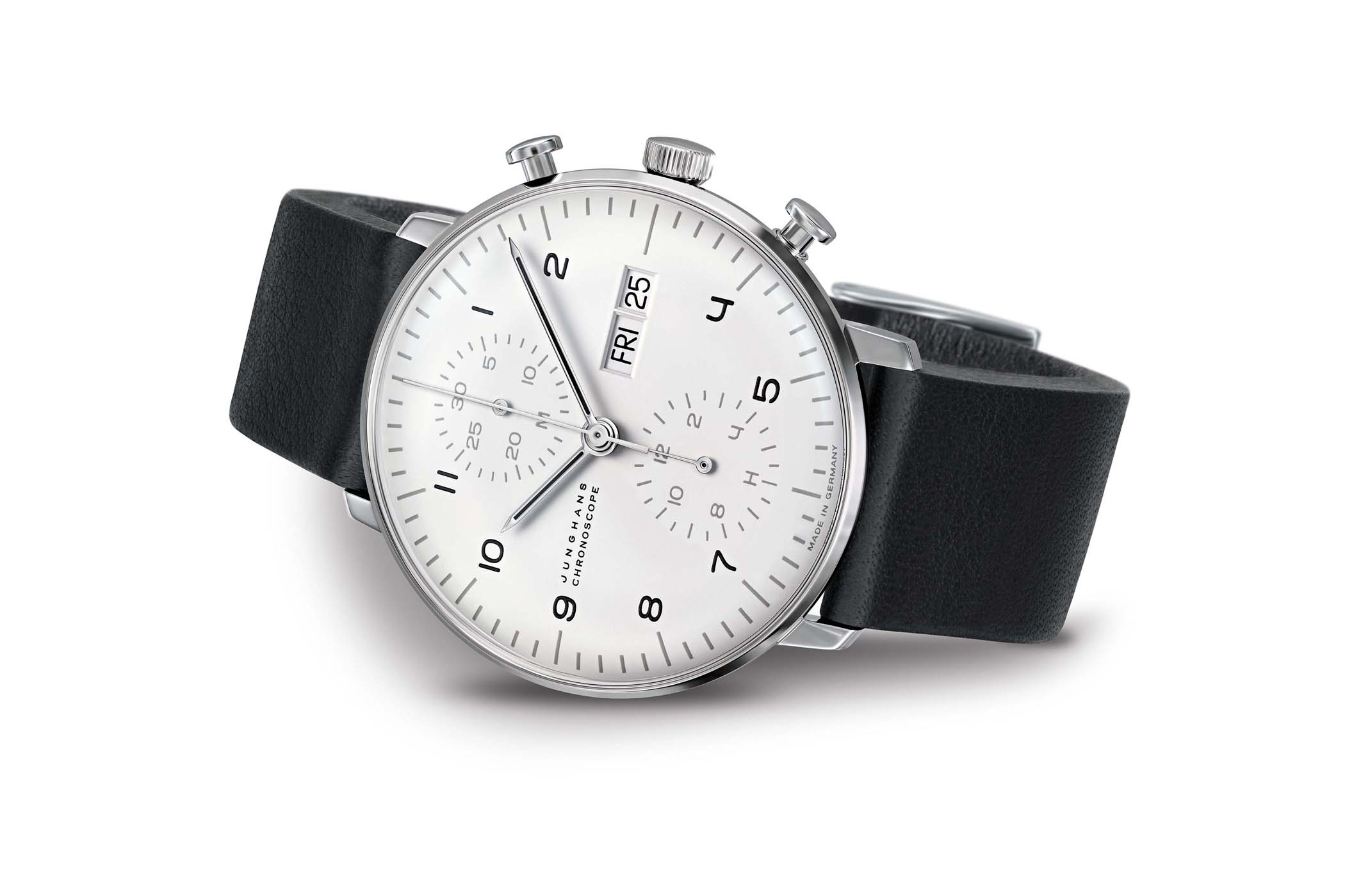 Junghans Max Bill Edition Set 2019 - Chronograph and Table Clock
