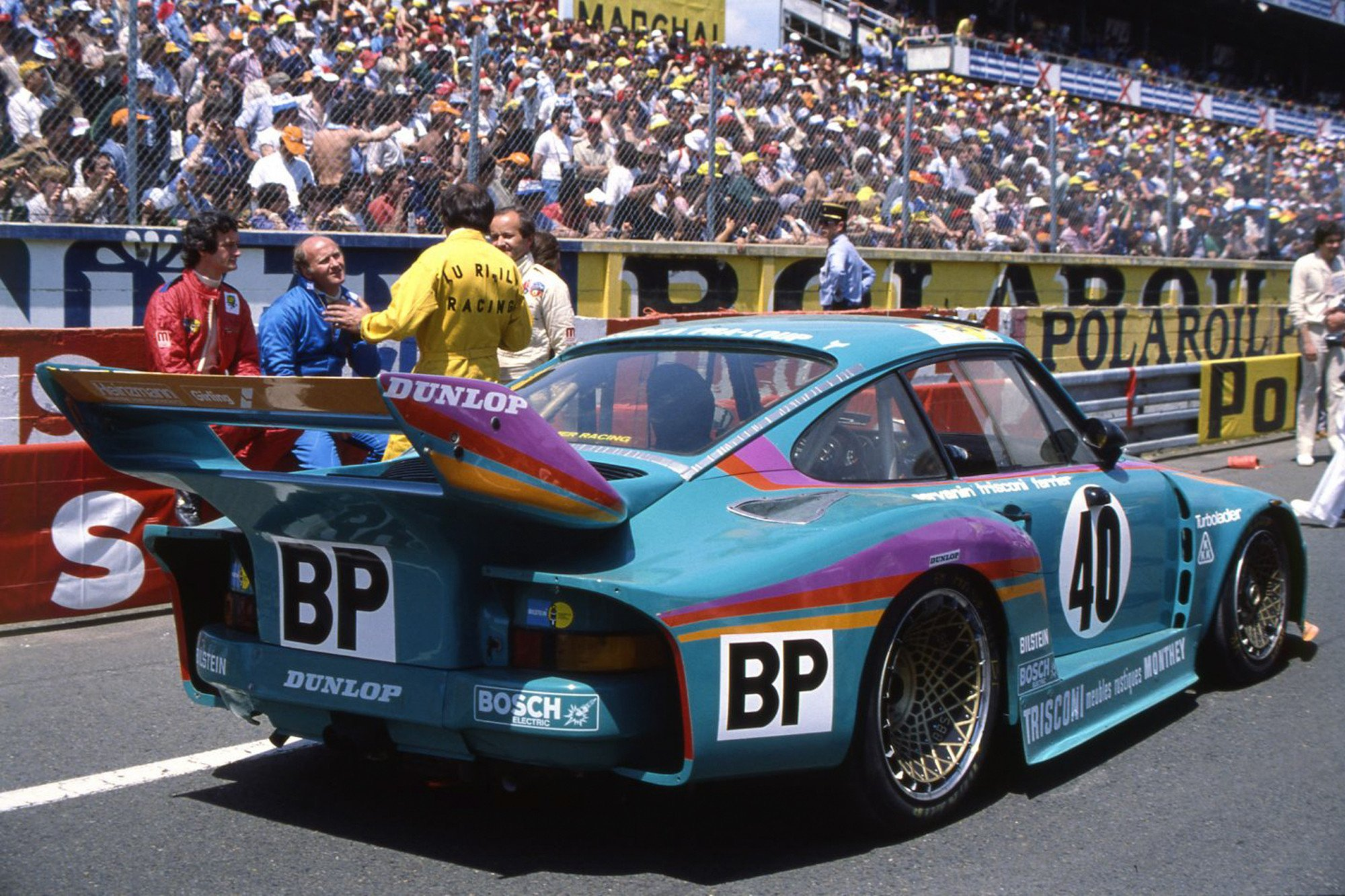Laurent Ferrier Le Mans 1979 Porsche Kramer