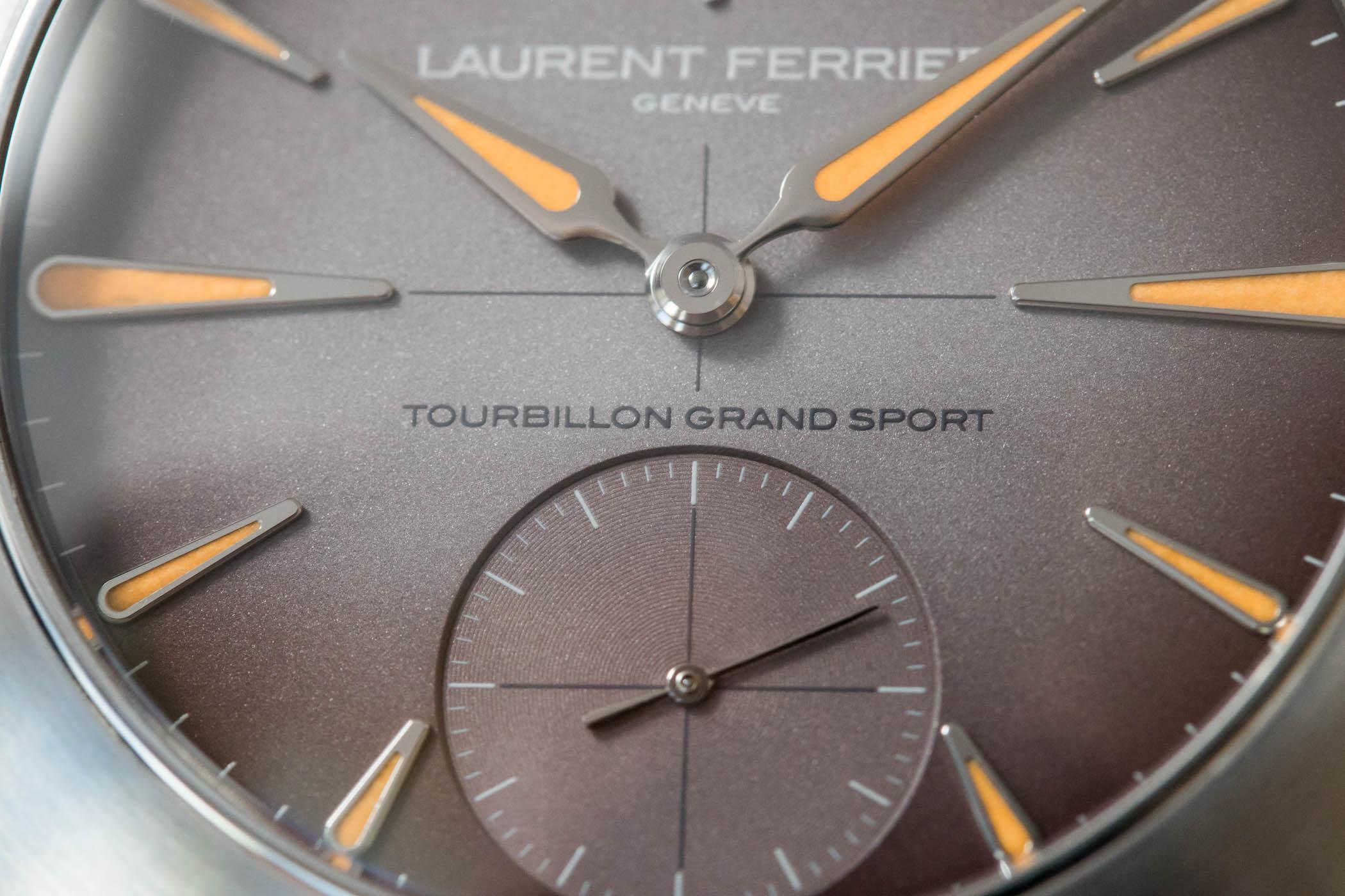 Laurent Ferrier Tourbillon Grand Sport - Steel Luxury Sports Watch - 14
