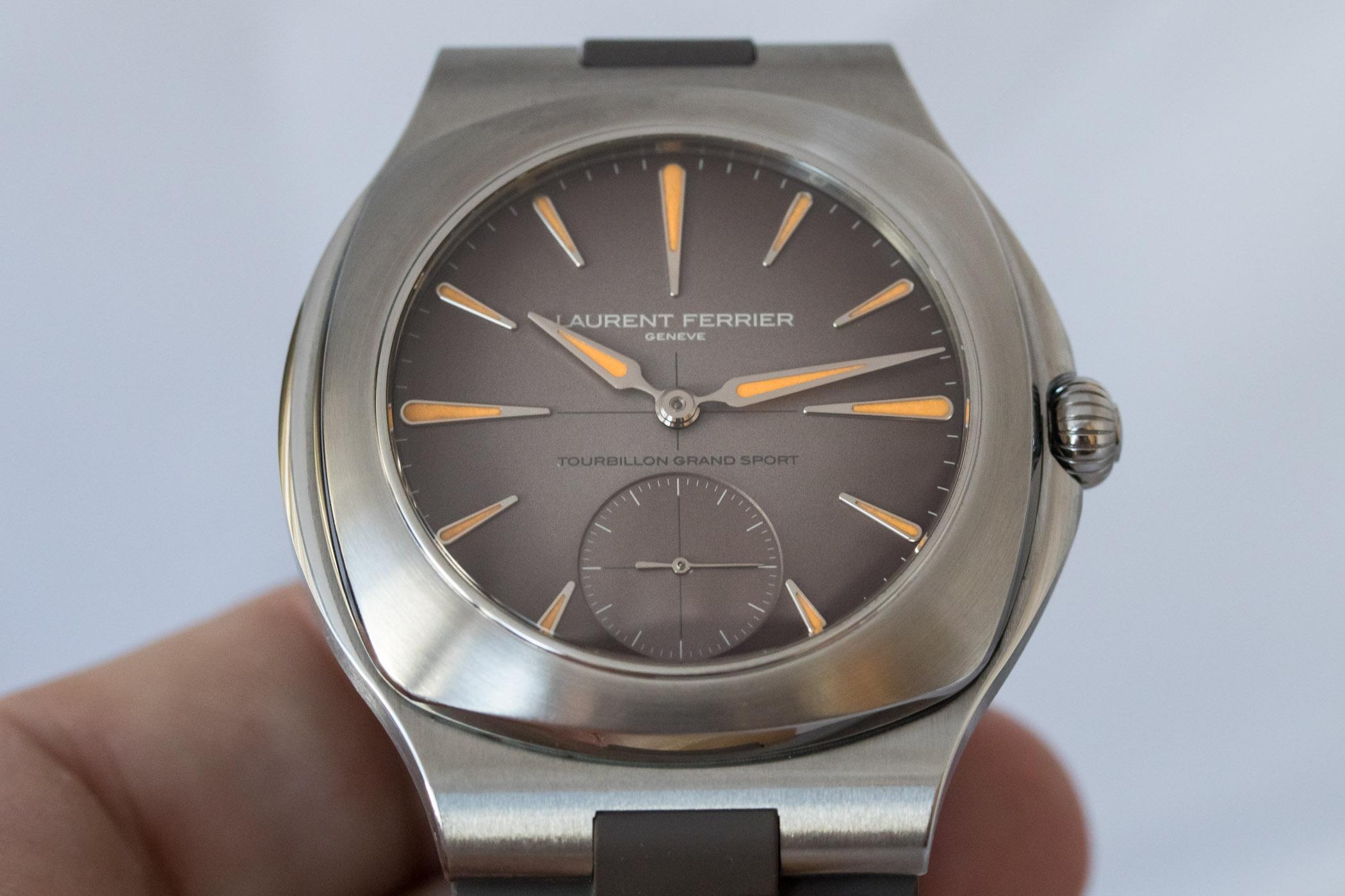 Laurent Ferrier Tourbillon Grand Sport - Steel Luxury Sports Watch - 16